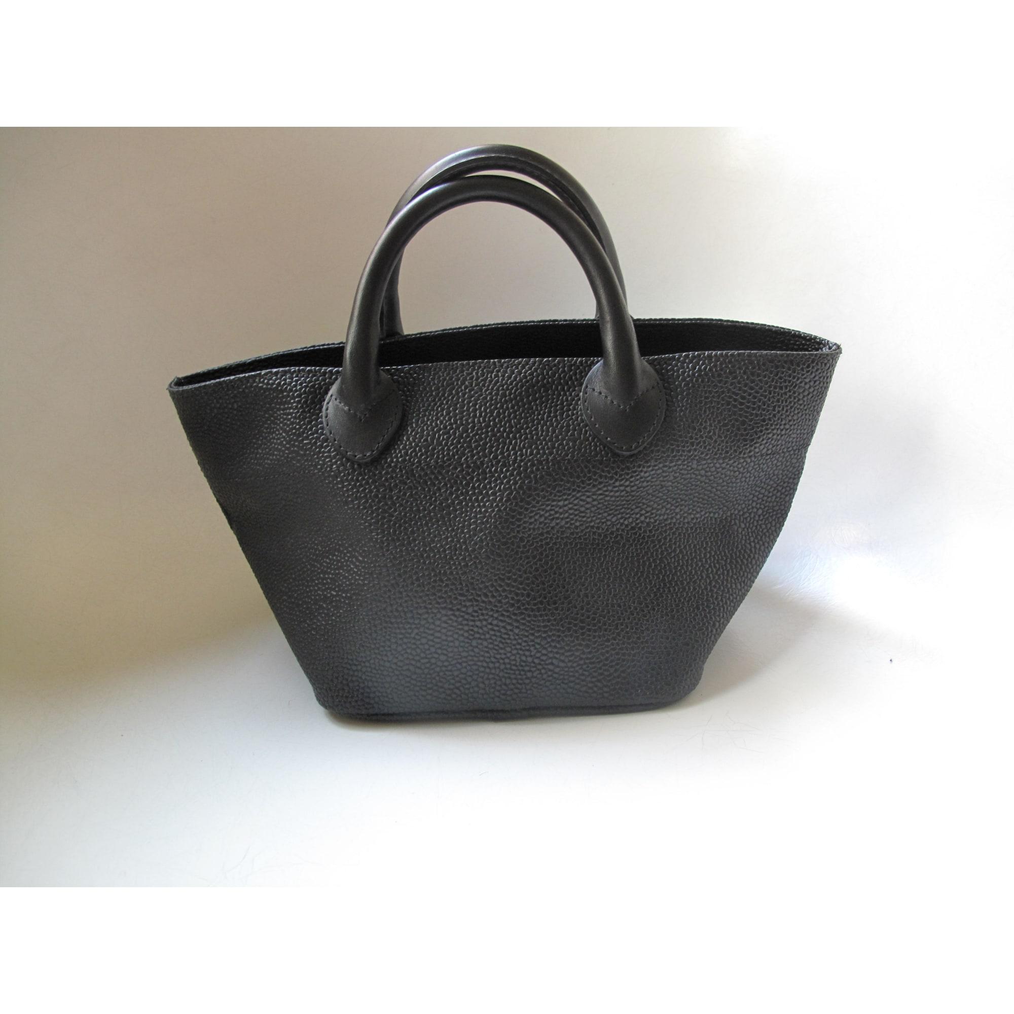 910f83618bb En Vendu Laura s Main Sac Noir Chapelier Shop9934 Hervé Par Cuir À FESw1qa