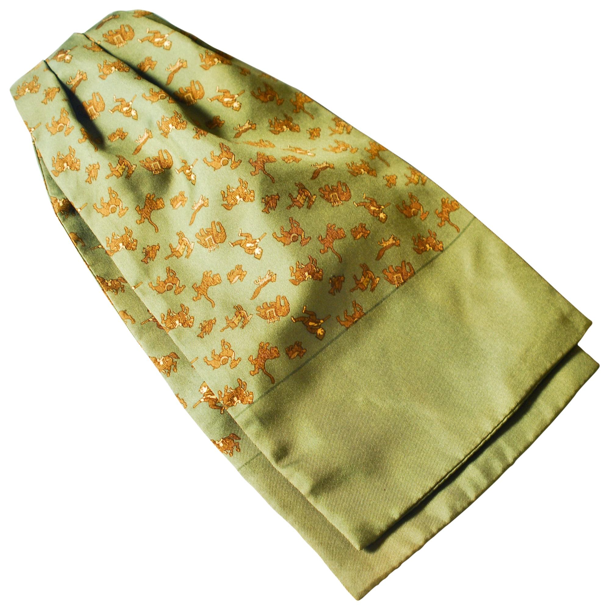 1bfa28e6a8e Cravate HERMÈS vert vendu par Laurent 7126970 - 3905917
