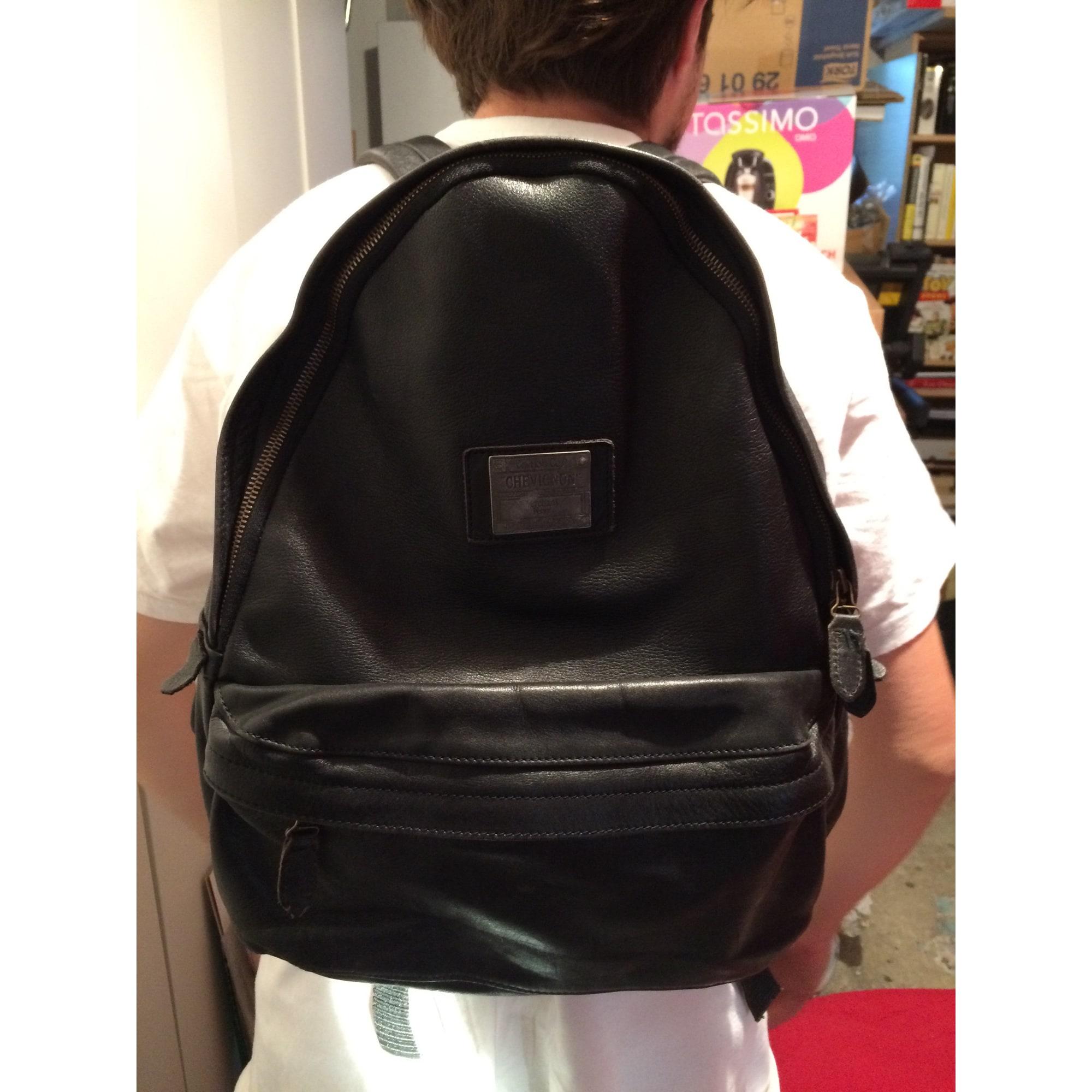b6ce3d5d03d Sac à dos CHEVIGNON noir vendu par Le bouddha chineur - 3923699