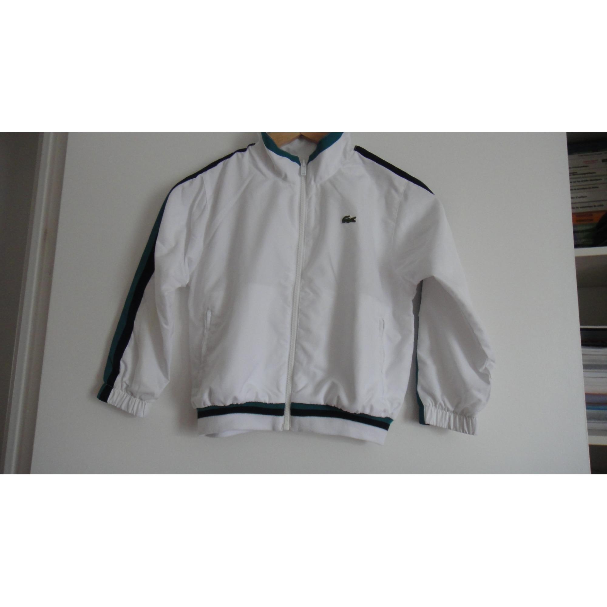 a25c50591f7 Ensemble jogging LACOSTE 5-6 ans blanc vendu par Coralie 94457159 ...
