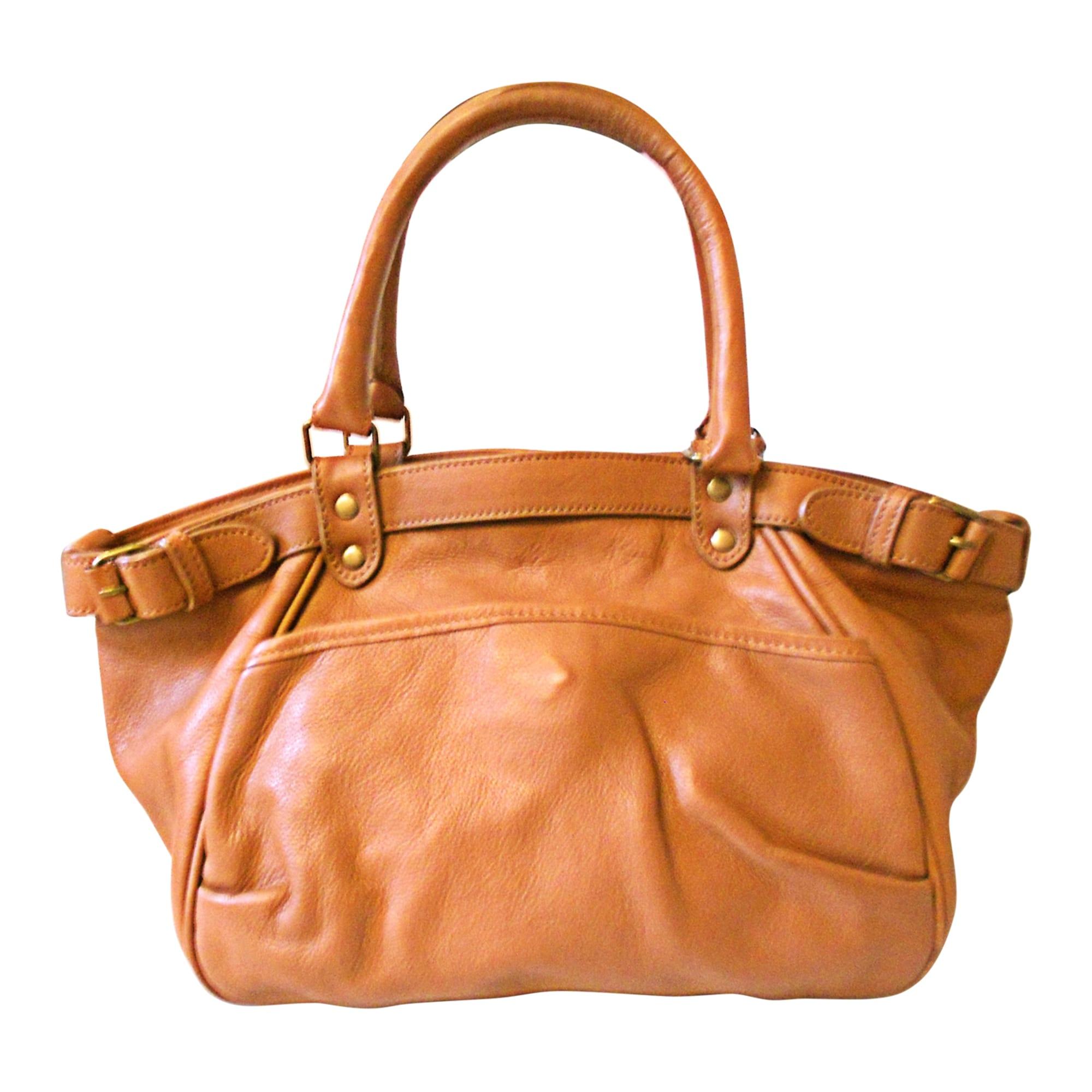 51fa6e77fe Sac à main en cuir VANESSA BRUNO marron vendu par Maryse 250366 ...
