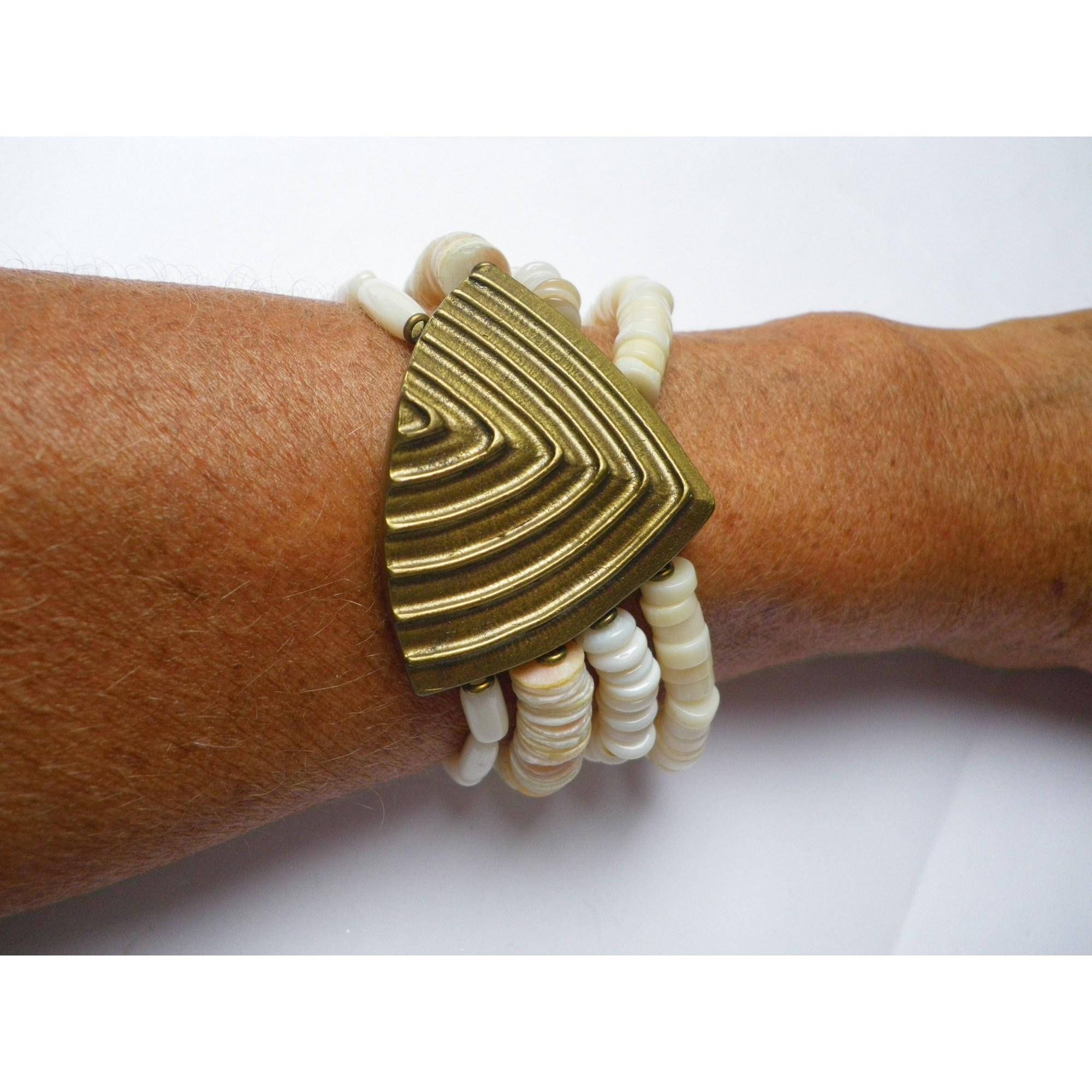 Bracelet LA TRIBU RIGAUX coquillage autre