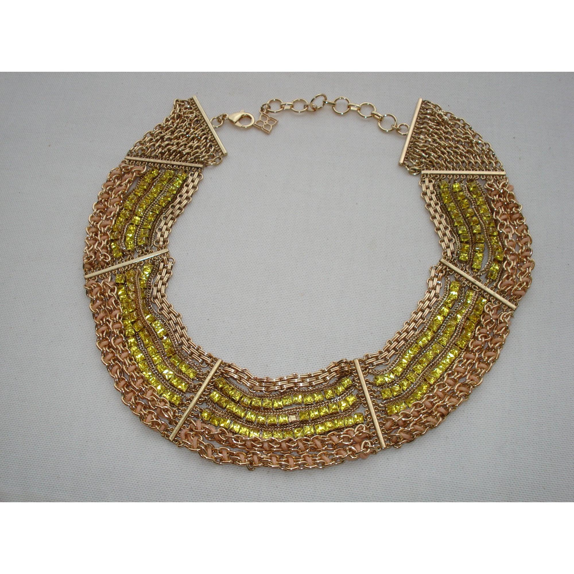 Collier BCBG MAX AZRIA métal doré