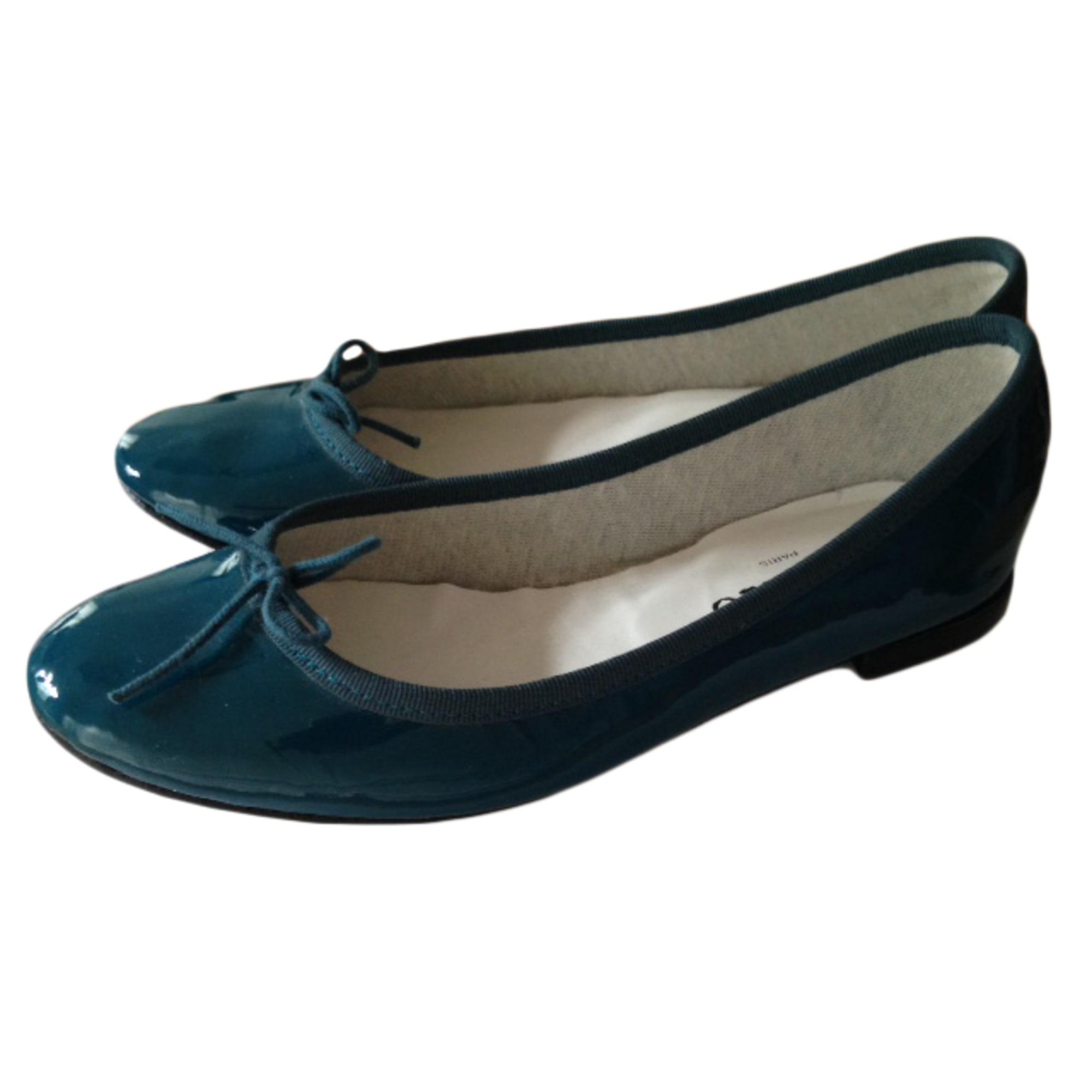 7585deeb23 Ballerines REPETTO Bleu, bleu marine, bleu turquoise