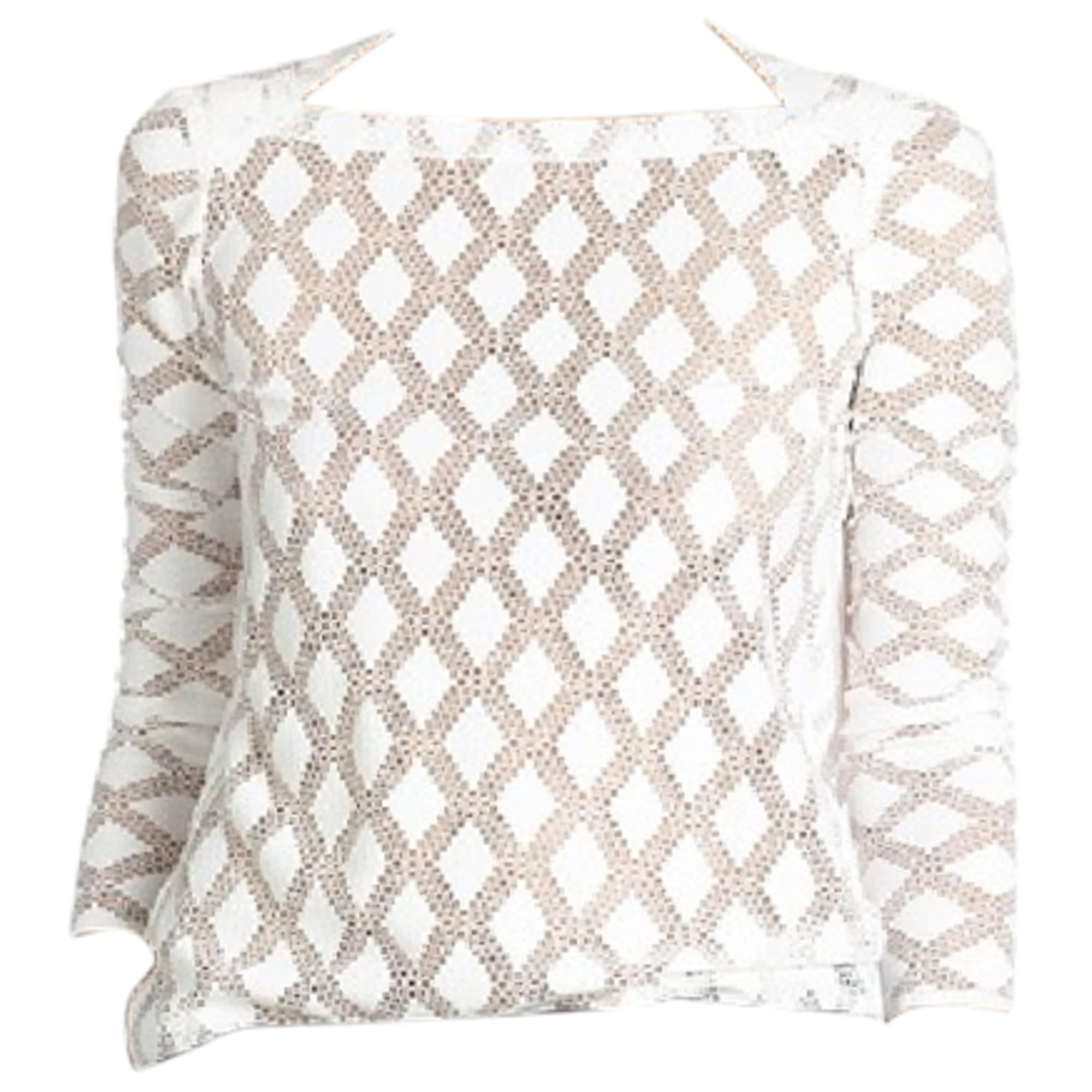 Maje Top, tee-shirt dentelle 38 (M, T2)