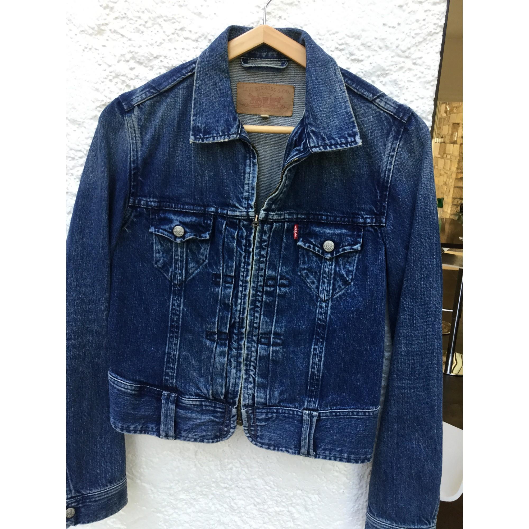 Veste Bleu m 38 Jean T2 3991657 En Levi's rwYRZqr