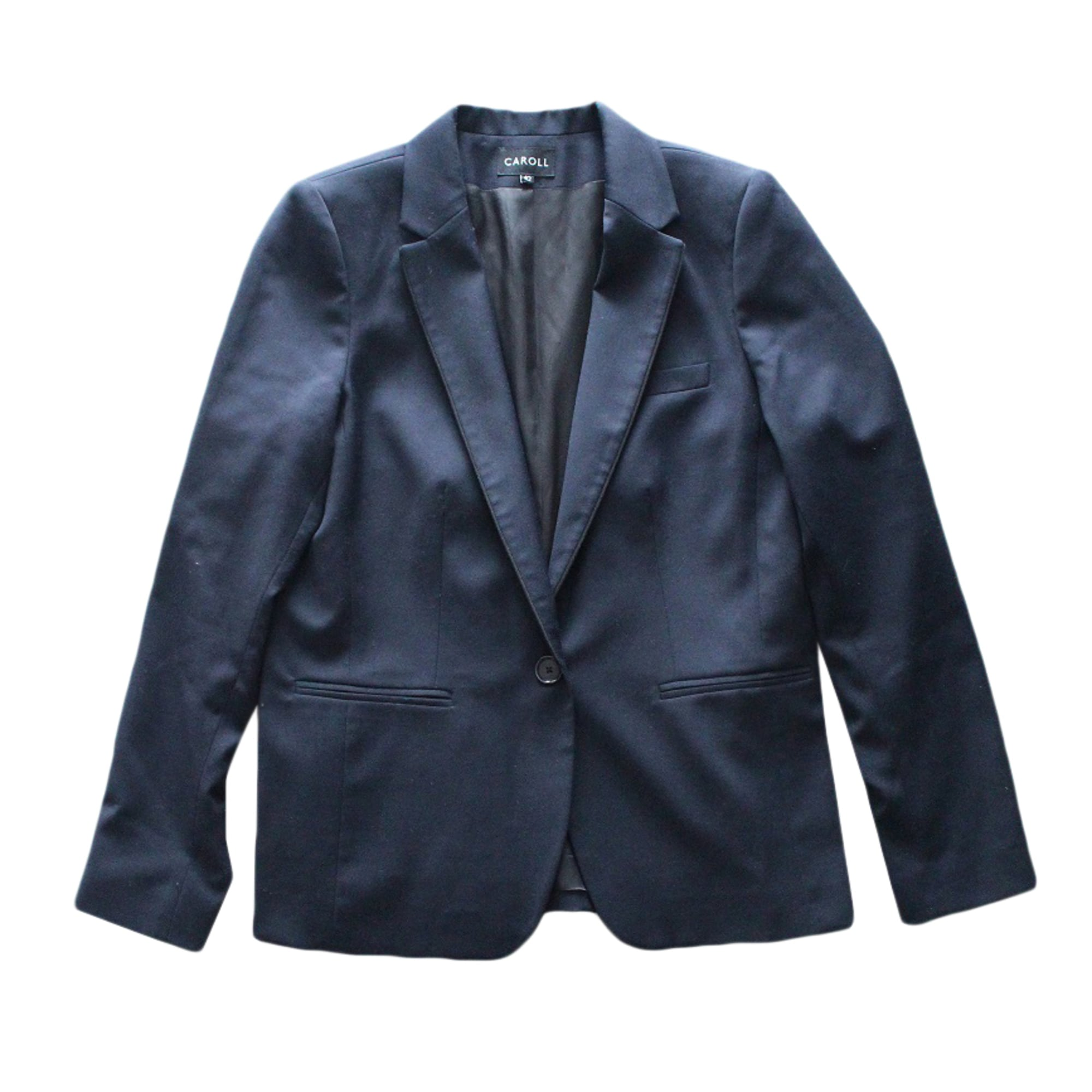 Blazer Bleu lxl Tailleur Veste 3992447 42 Caroll T4 wFxag4wv 7f190a2a893