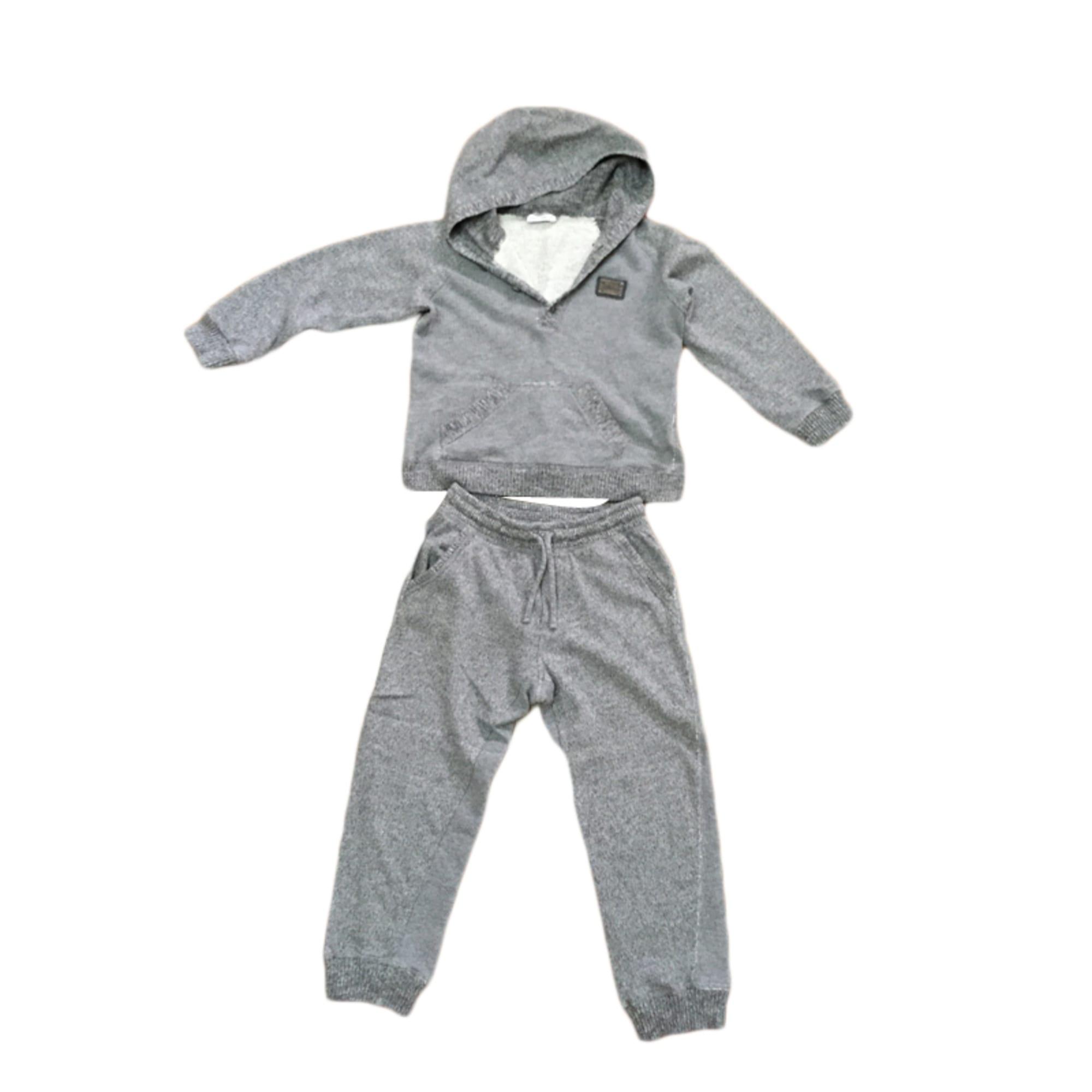 Pants Set, Outfit DOLCE & GABBANA Gray, charcoal