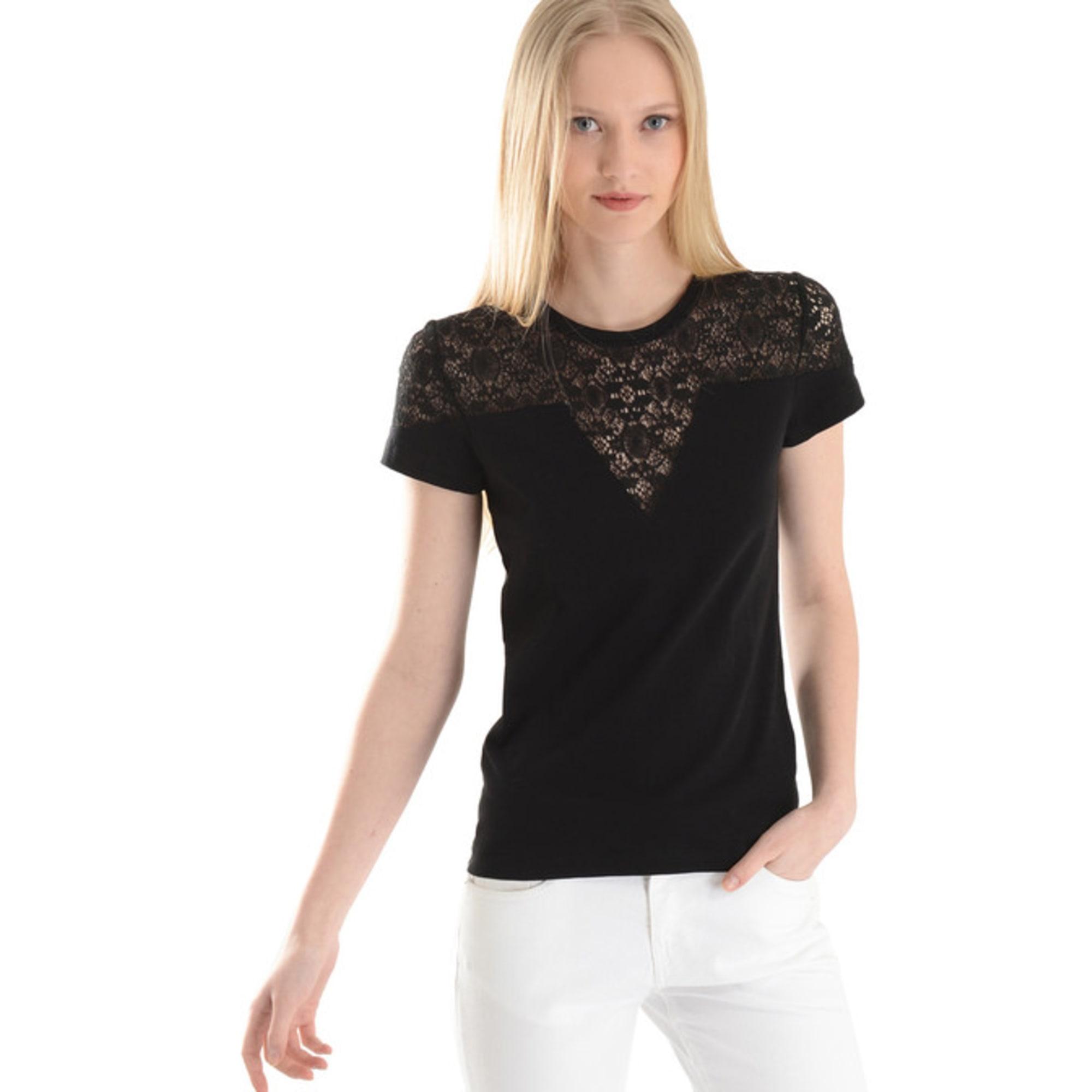 Maje Top, tee-shirt coton autre 40 (L, T3)