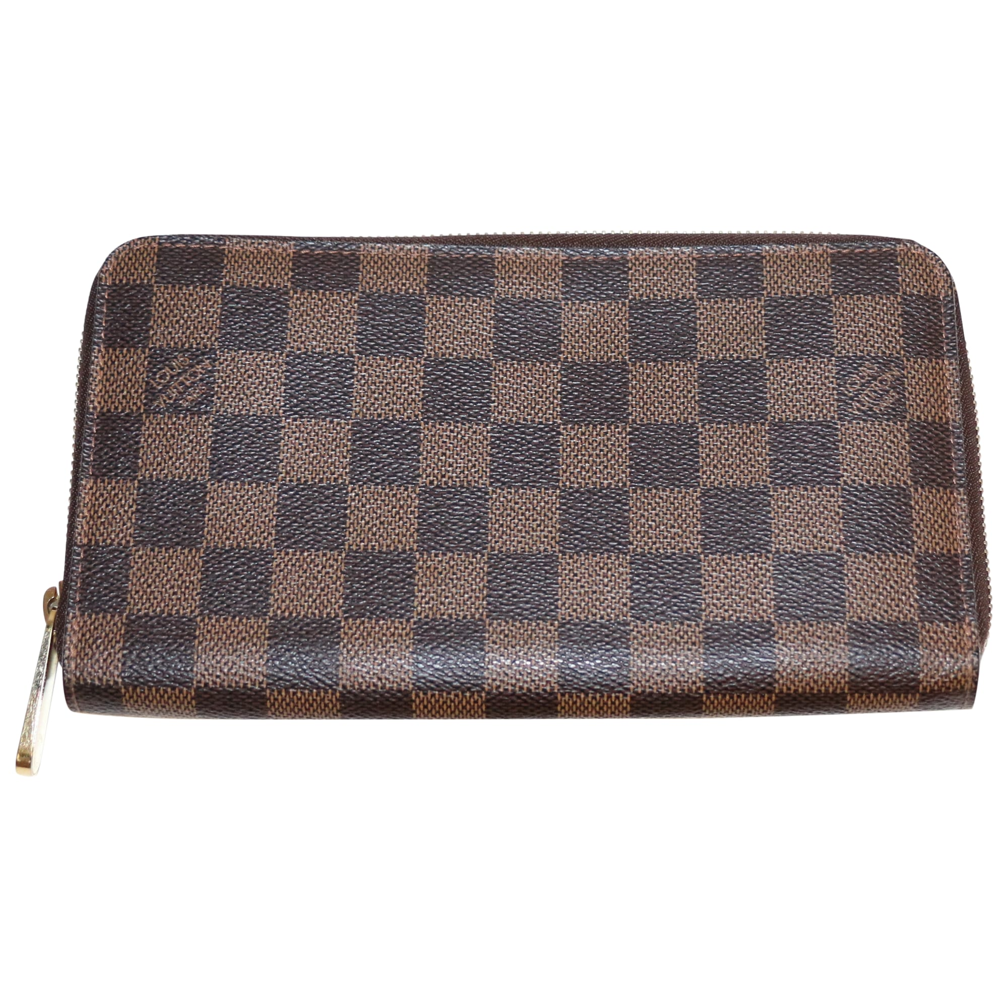 Portefeuille LOUIS VUITTON zippy marron vendu par Veronick - 4021571 3b2fe443729