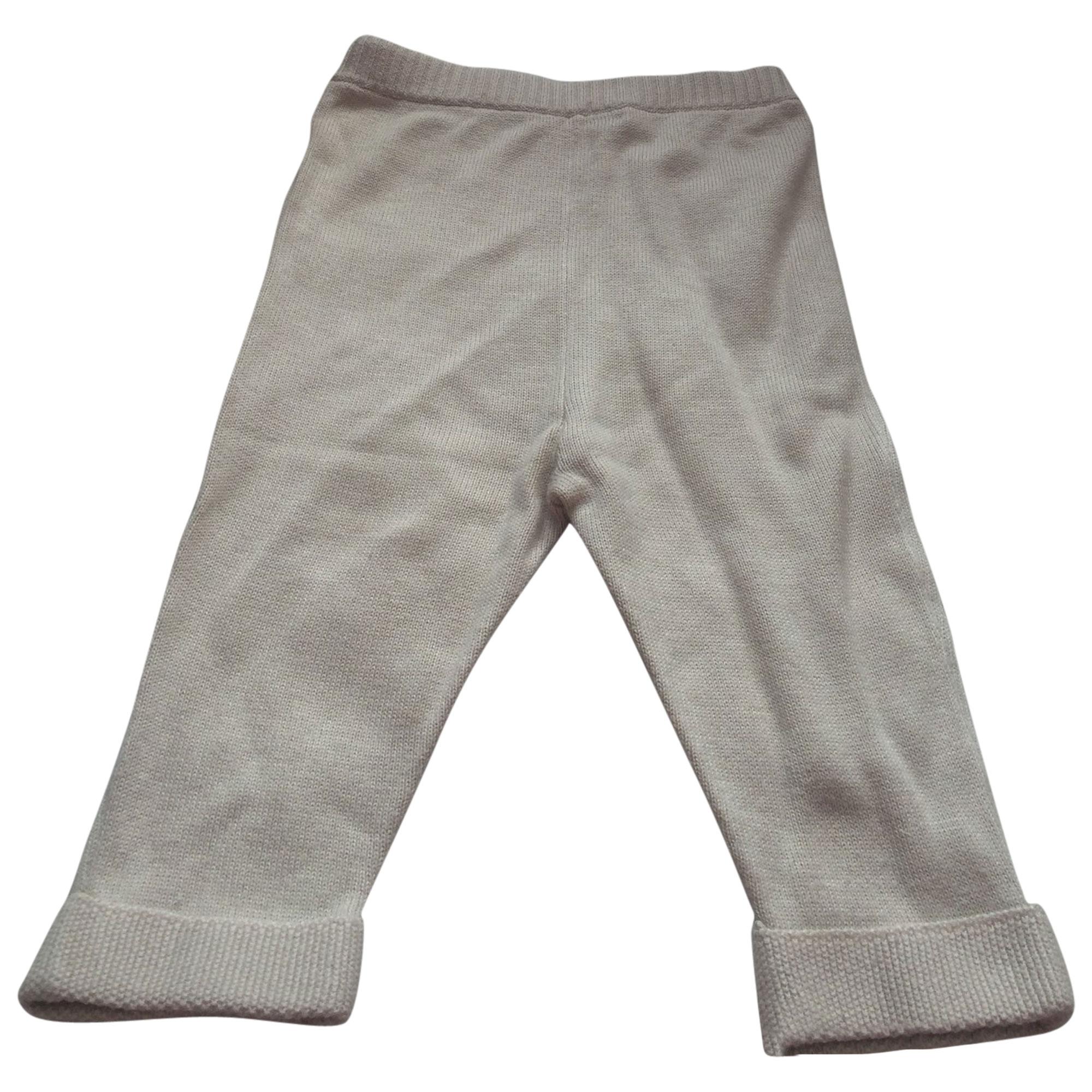 Pantalone BABY DIOR Beige, cammello