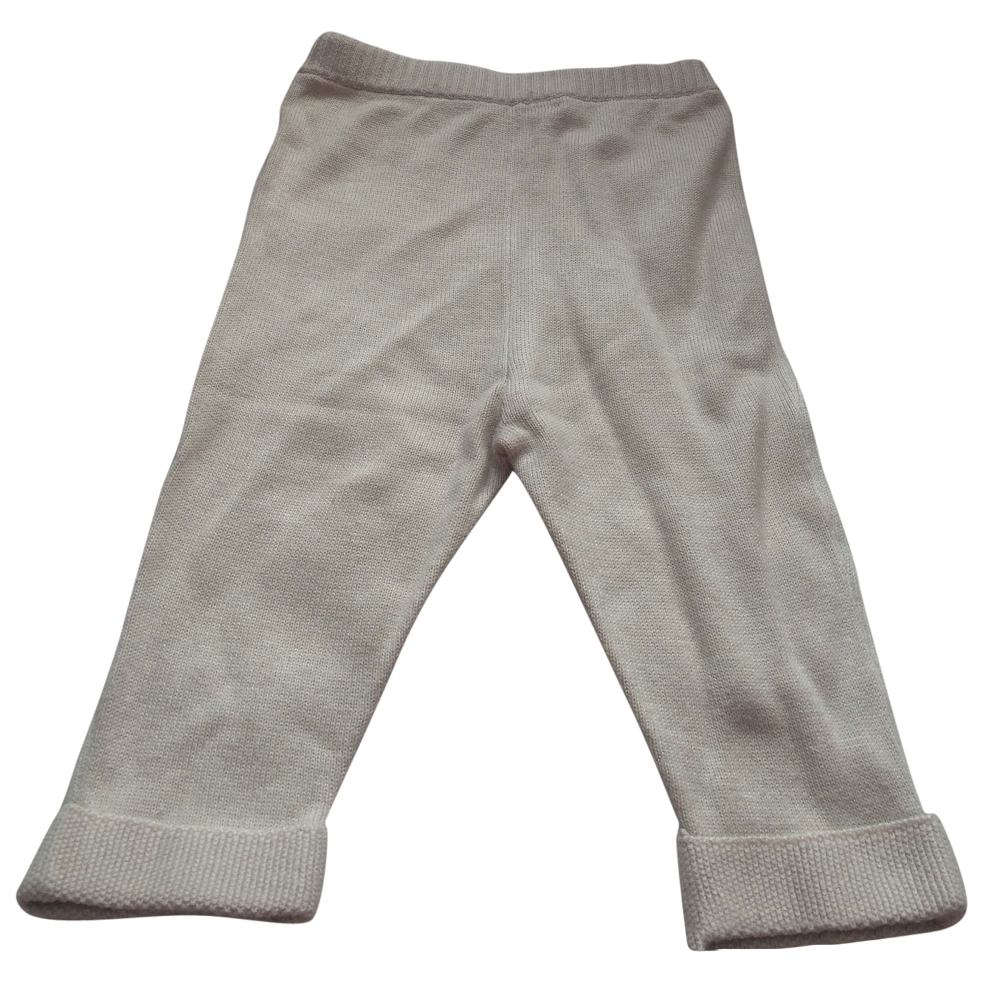 Pantalon BABY DIOR Beige, camel
