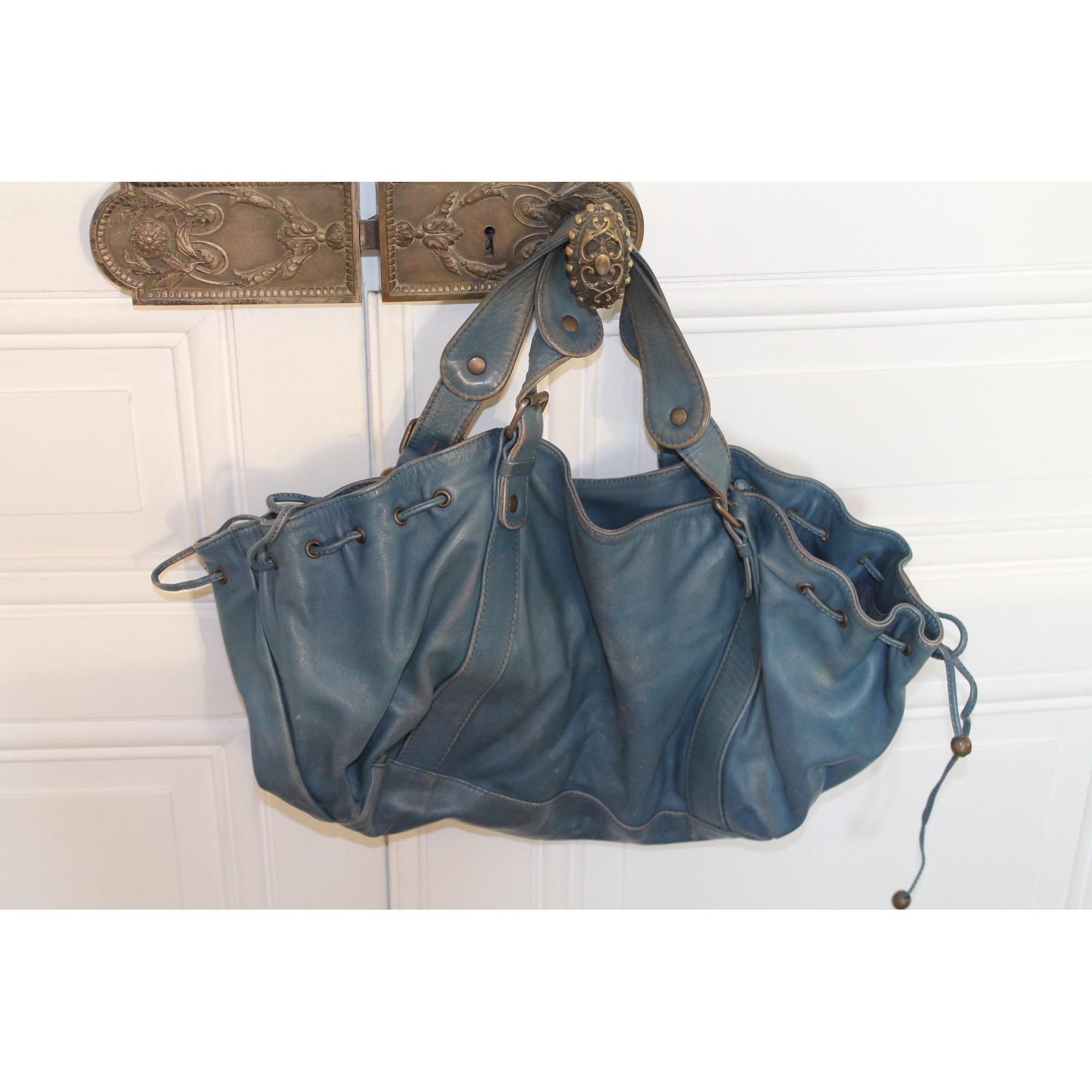 13110ee20cc9 Sac à main en cuir GERARD DAREL bleu vendu par Shopname437706 - 4027405