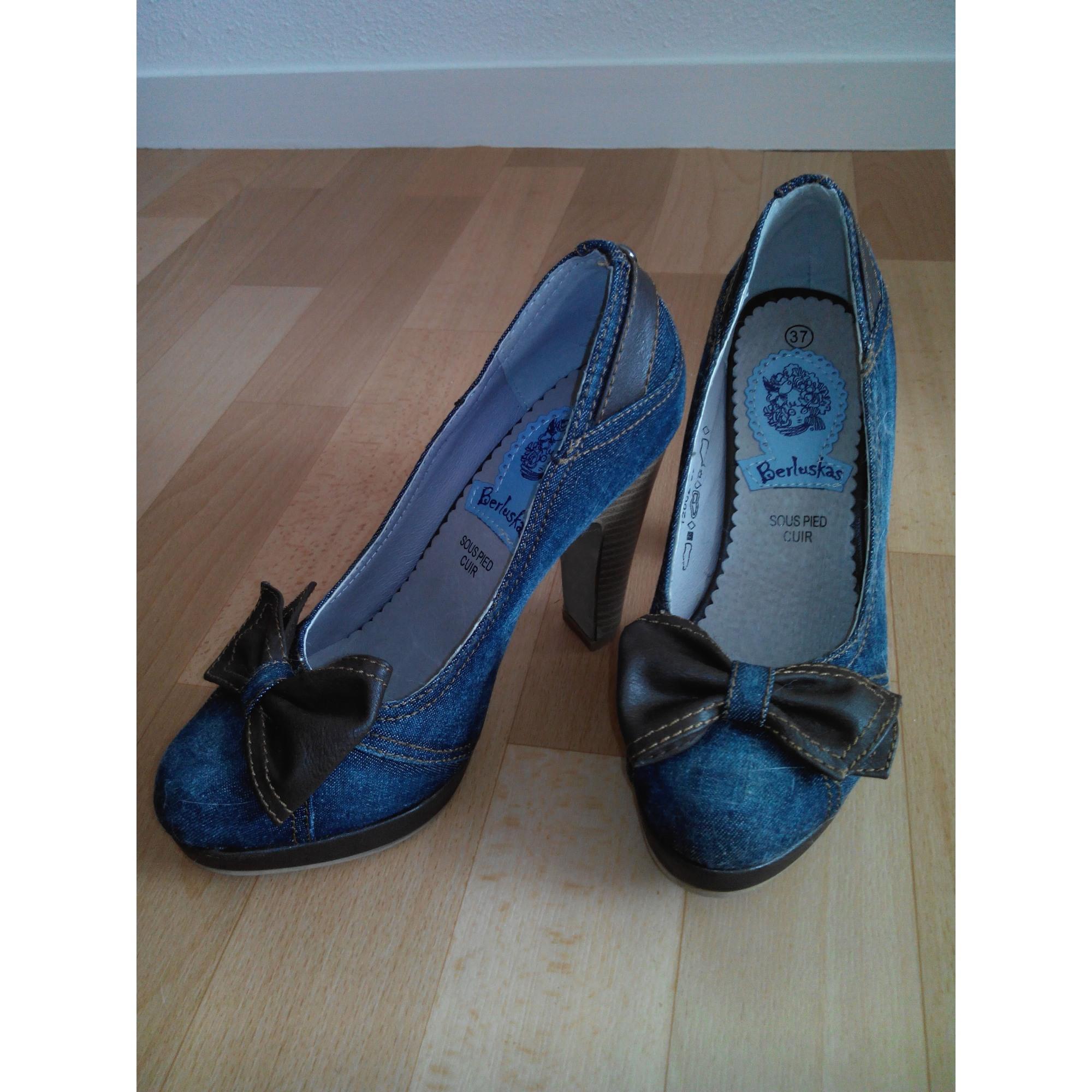 bleu Escarpins CHAUSSURES 37 BESSON 4033796 txtOYqRH