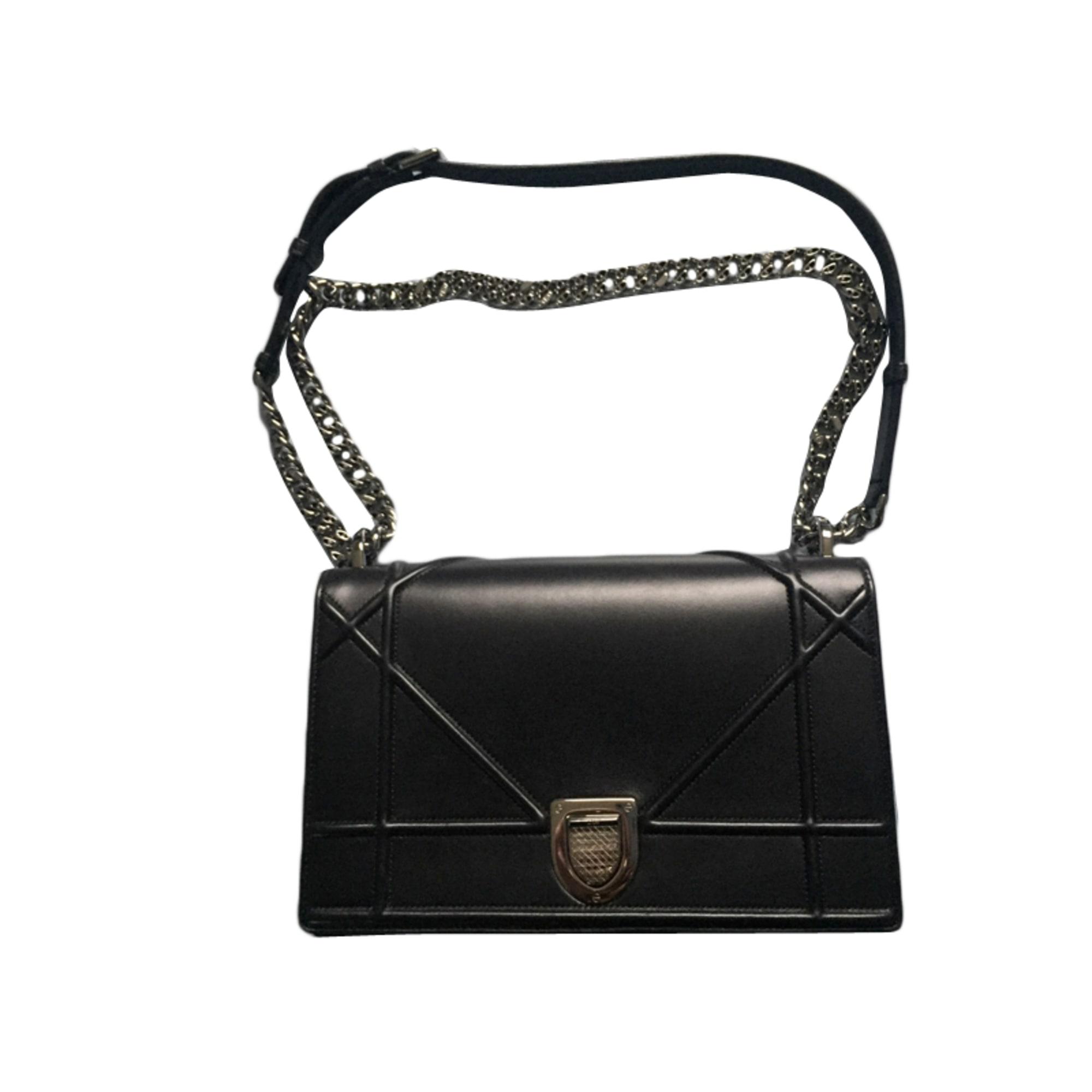 2c4c8079780b Sac à main en cuir DIOR diorama noir vendu par Karine425757 - 4083800