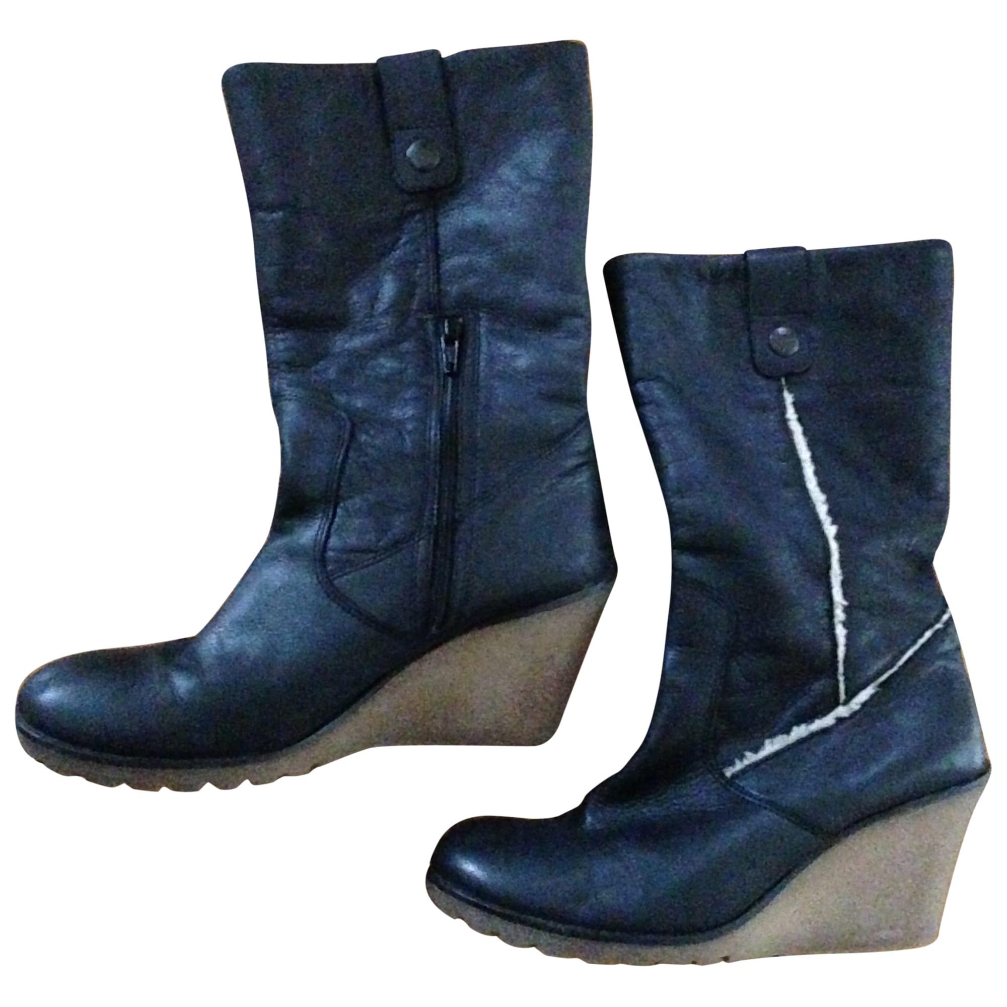 rechercher le meilleur variété de dessins et de couleurs grande collection Bottines & low boots à compensés