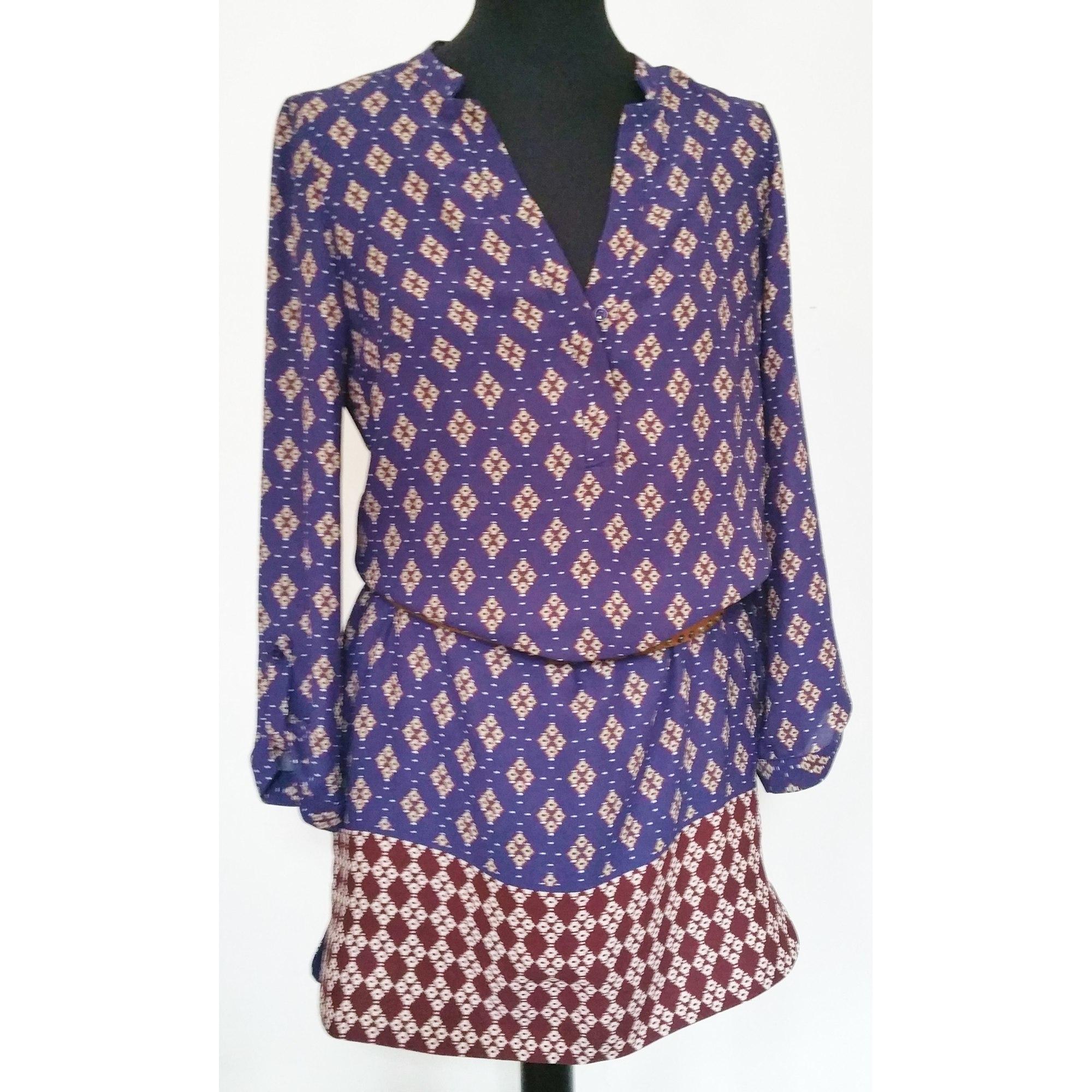 Robe tunique CAROLL 36 (S, T1) bleu vendu par Spheres - 4090127 4a53942eb973