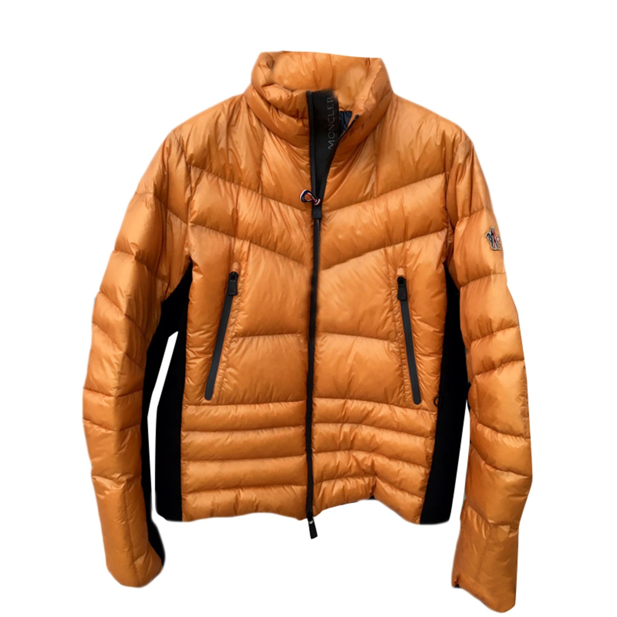 Doudoune MONCLER 54 (L) orange vendu par Jocelyn255046 - 4125996 e3e9f8687f3