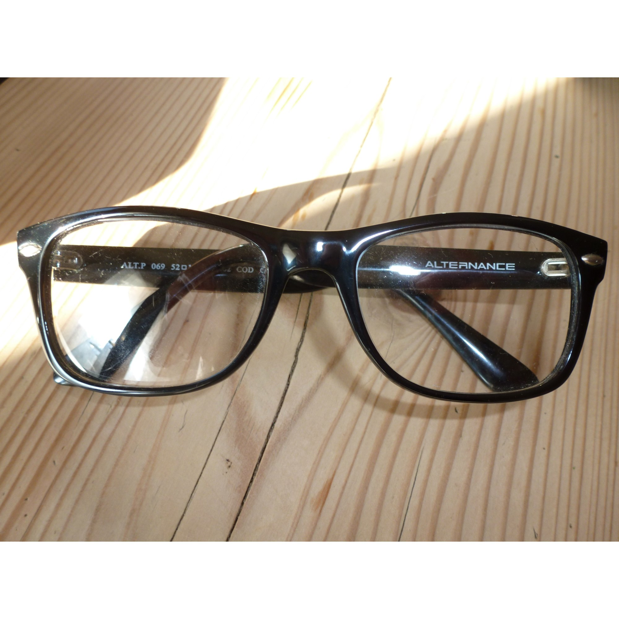 Monture de lunettes ALTERNANCE noir vendu par Landeve79349 - 4127565 e55b75d4a01f