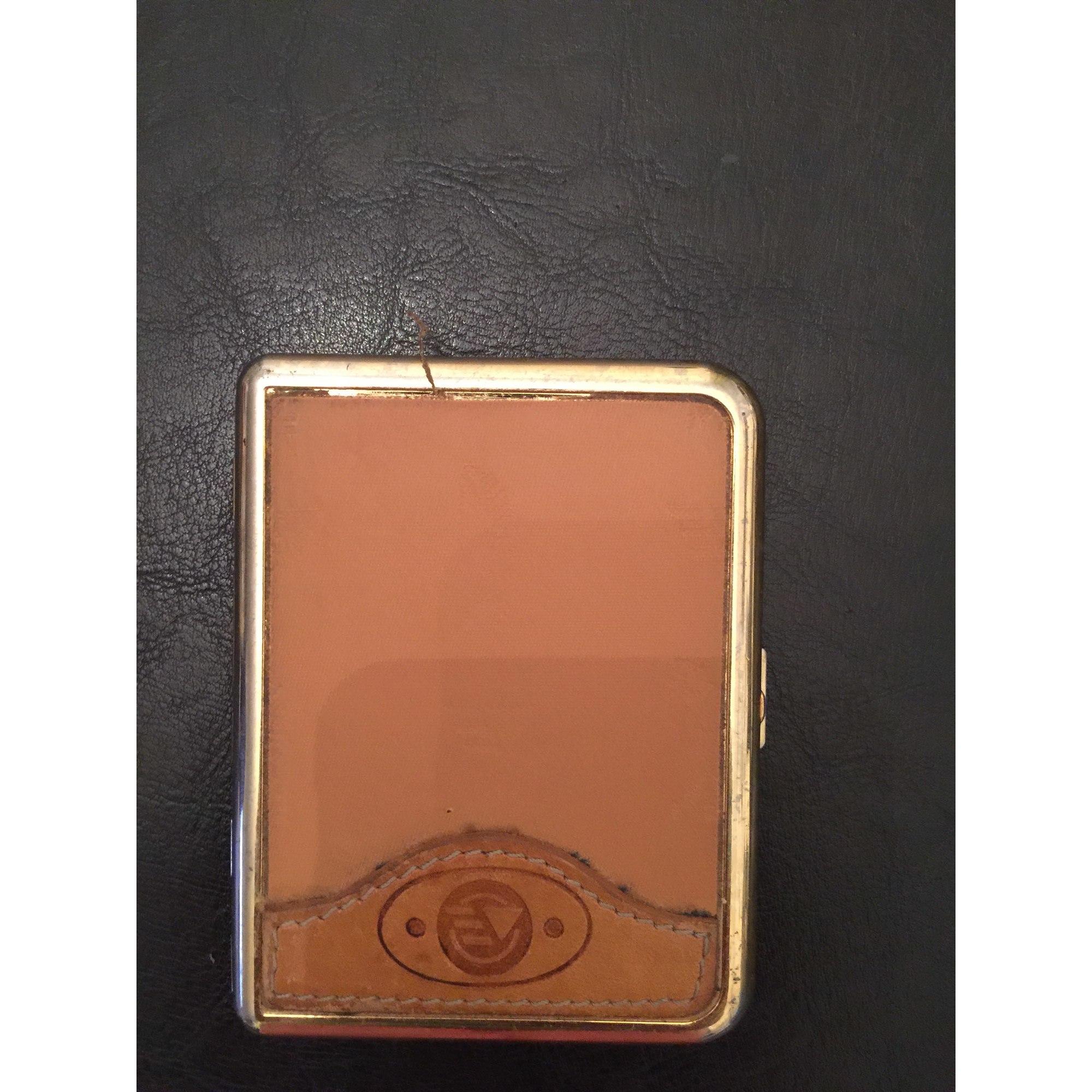 Porte-cigarette ENZO VERSINI cuir marron