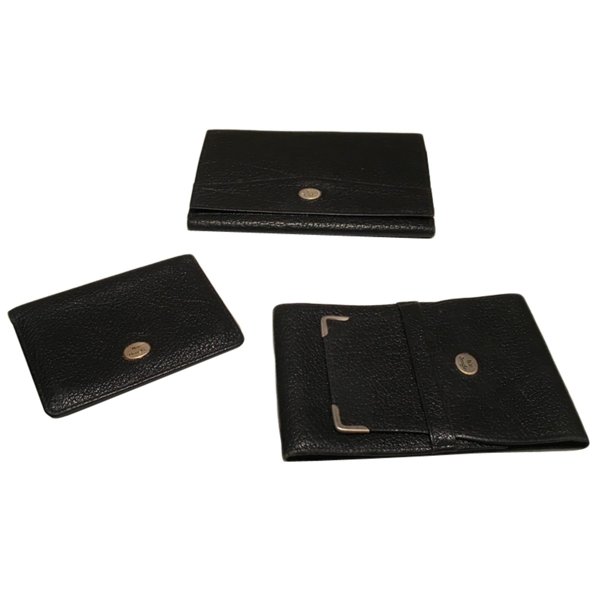 Porte-chéquier MAC DOUGLAS noir vendu par Vanessaix - 4156709 86a51e9ae3e
