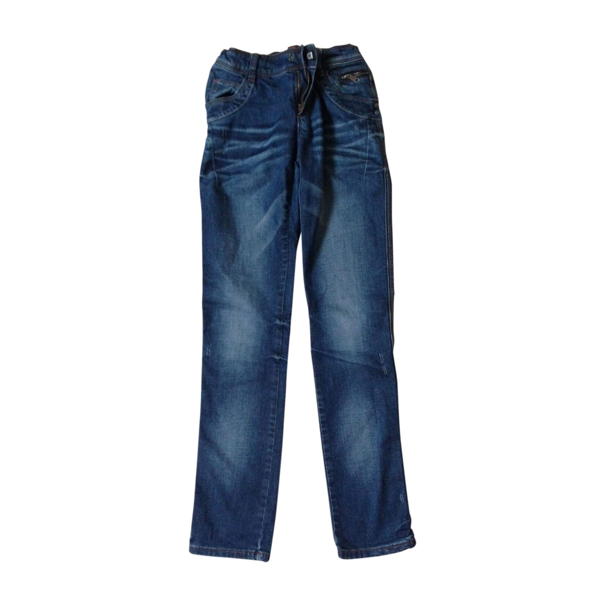 Skinny Jeans JEAN BOURGET Blue, navy, turquoise