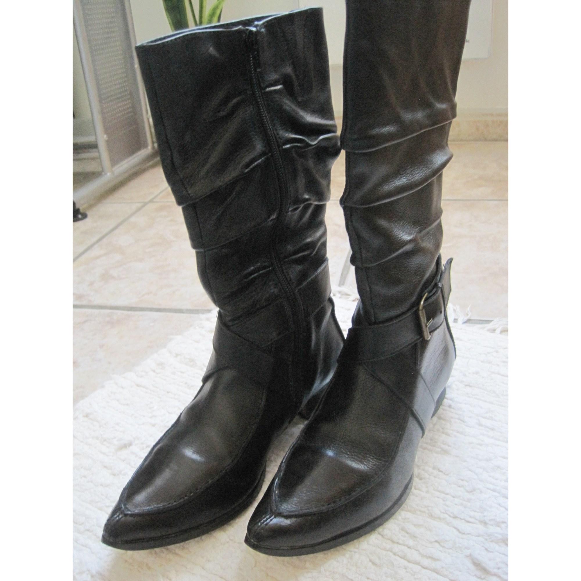 taille 40 3c113 2f270 Santiags, bottines, low boots cowboy ILARIO FERUCCI