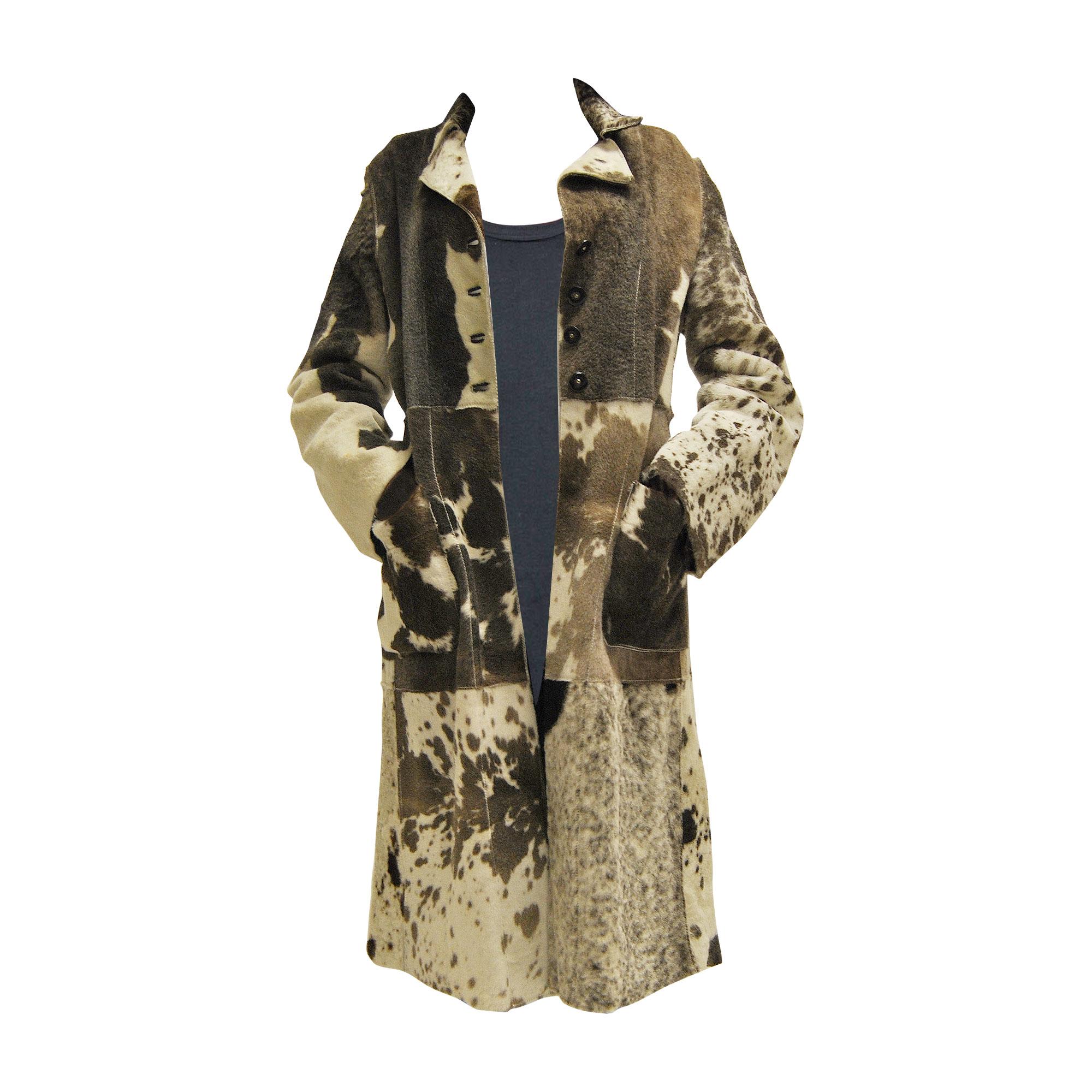 buy online 8ae58 6f52e Cappotto in pelliccia JUST CAVALLI