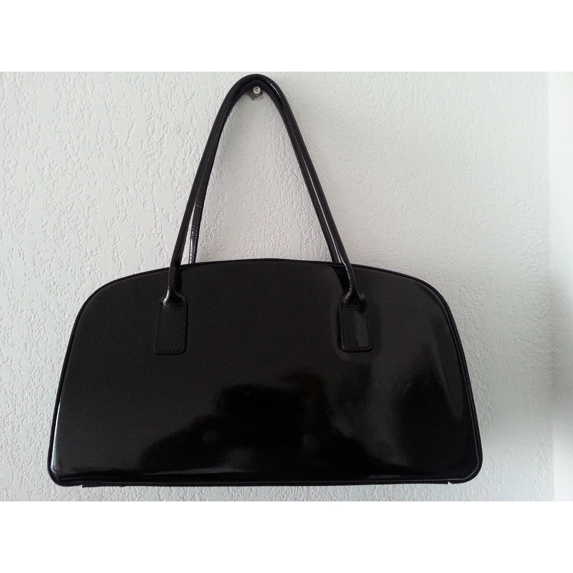 ac1b0b559f Sac à main en cuir MORLANE noir - 4208495