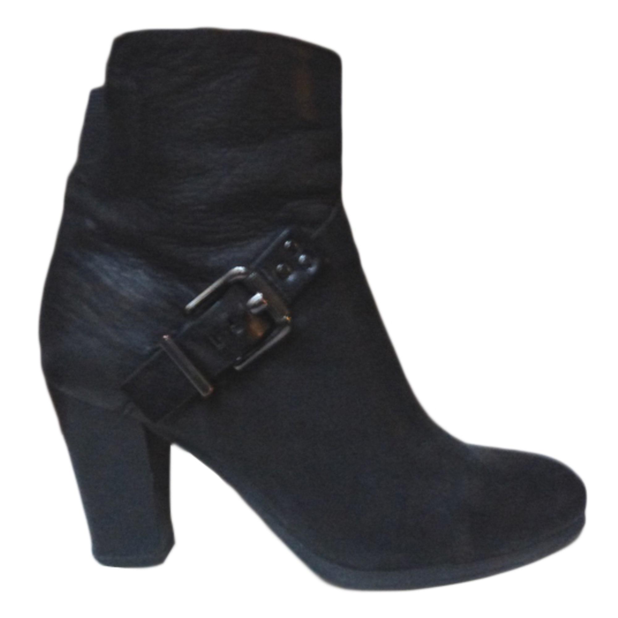 2c0fce8daf14 Bottines   low boots à talons JONAK 36 noir - 4237340