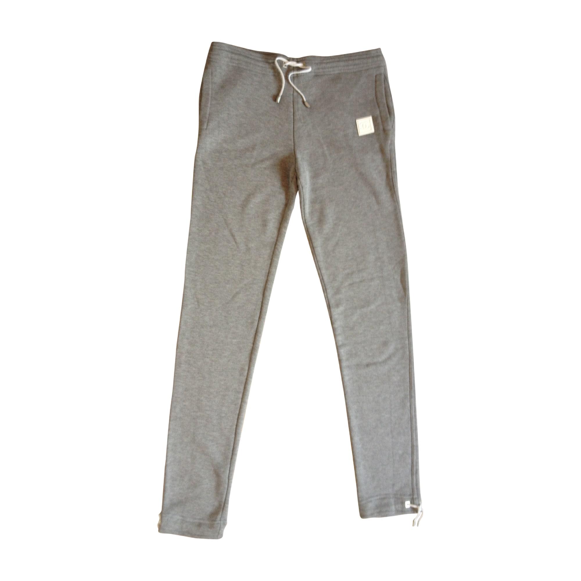 Pantalon de survêtement CHANEL 38 (M, T2) gris vendu par ... 2374eeffe61