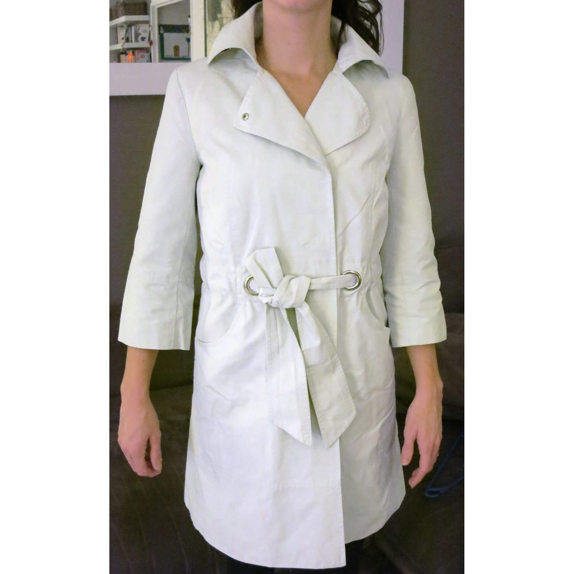 0a54399c08a9 Imperméable, trench CAROLL 36 (S, T1) gris - 4247906