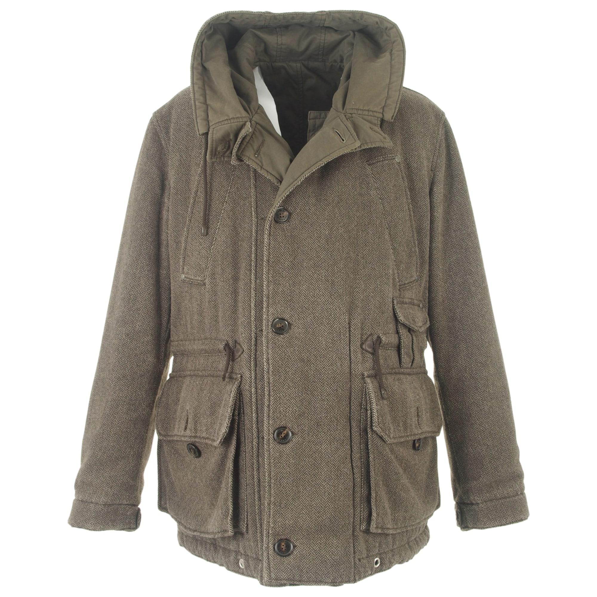 Manteau CERRUTI 1881 52 (L) marron vendu par Le vide-dressing du ... 47aa26eca4a