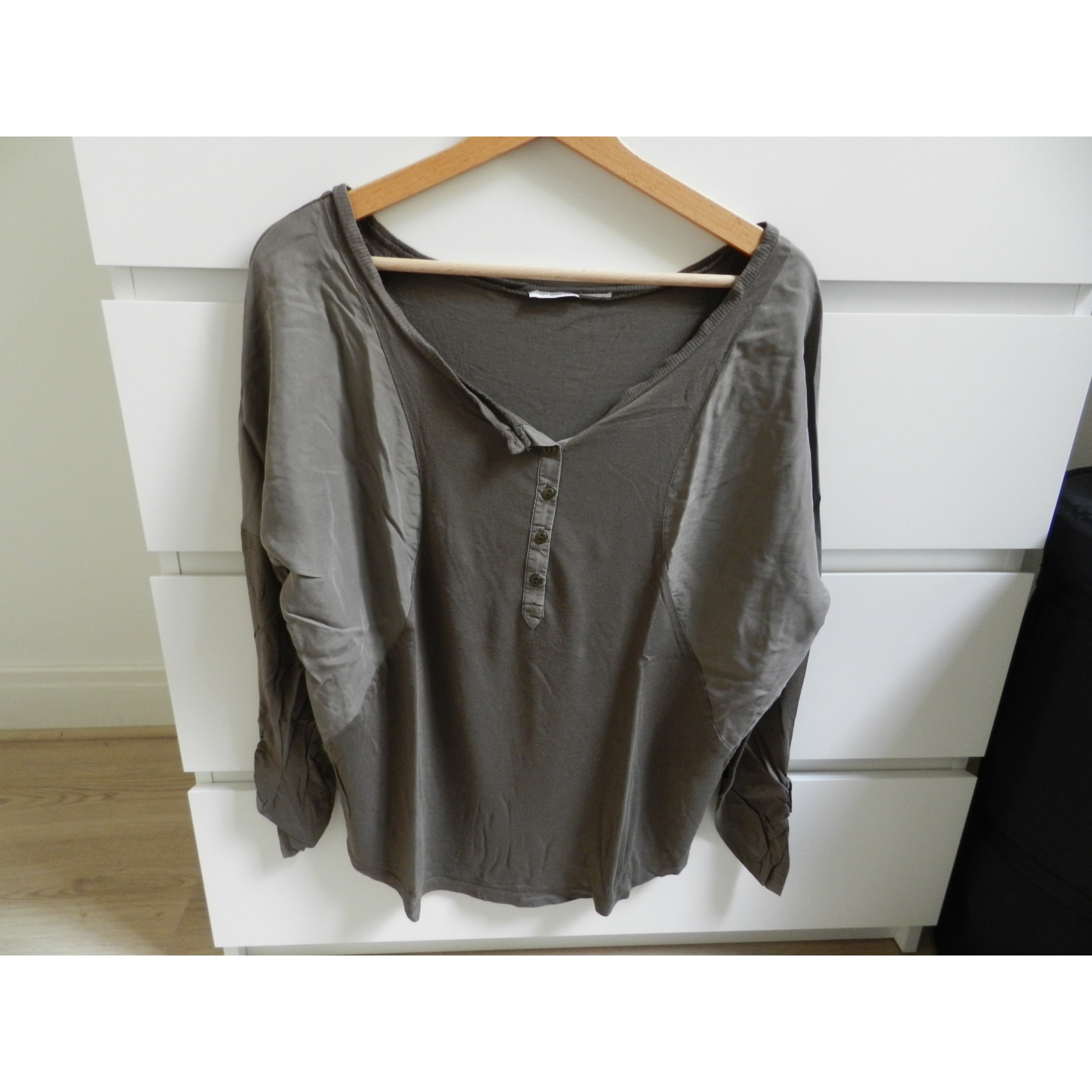 Top, tee-shirt SOFT GREY Kaki