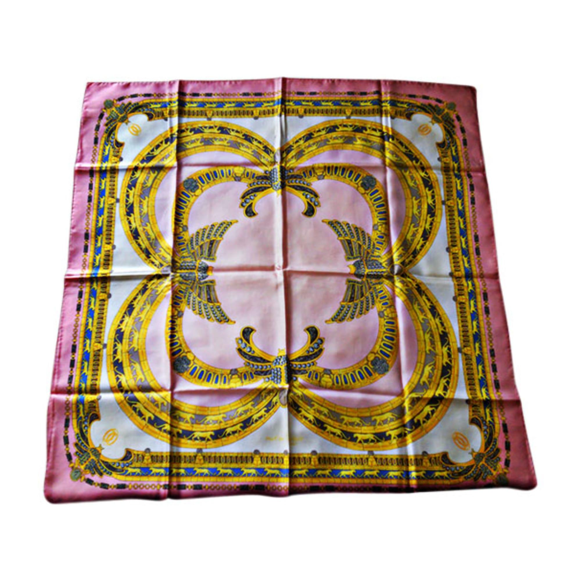 Foulard CARTIER rose vendu par Fanny 5996643 - 428576 efbbe70ff13