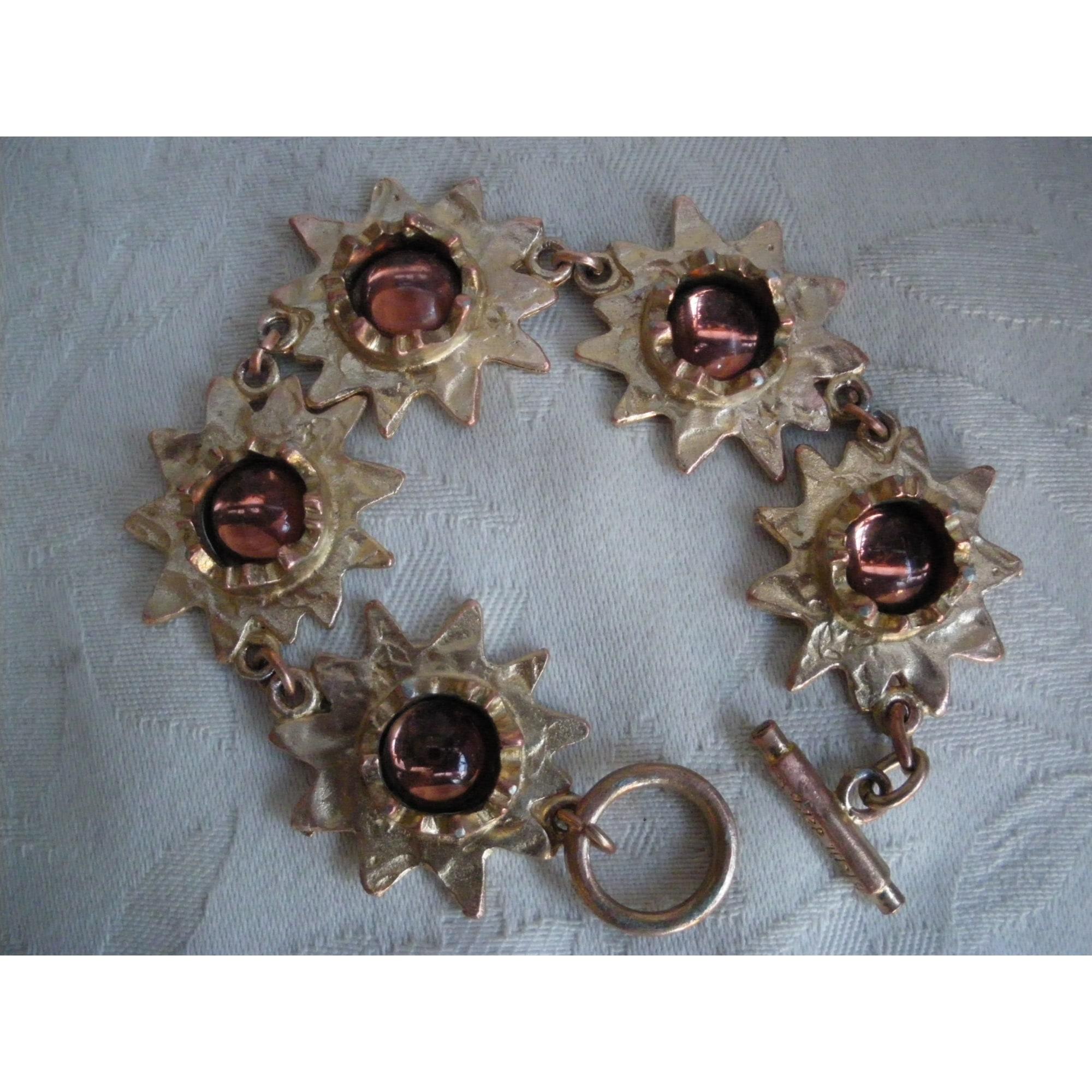 Bracelet BICHE DE BÈRE métal doré