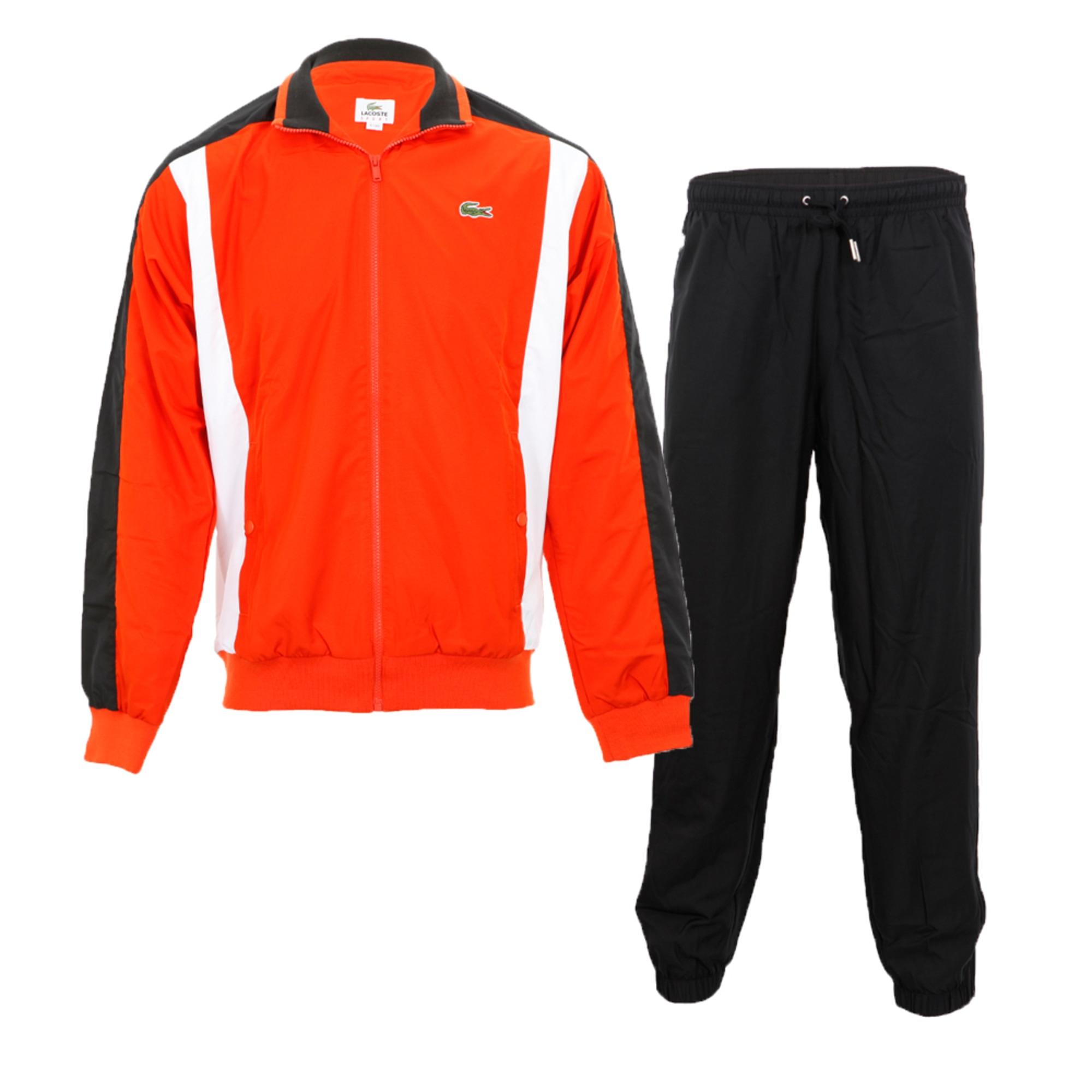 528f514c9f9c Ensemble jogging LACOSTE 52 (L) orange vendu par Vidressing71100 ...