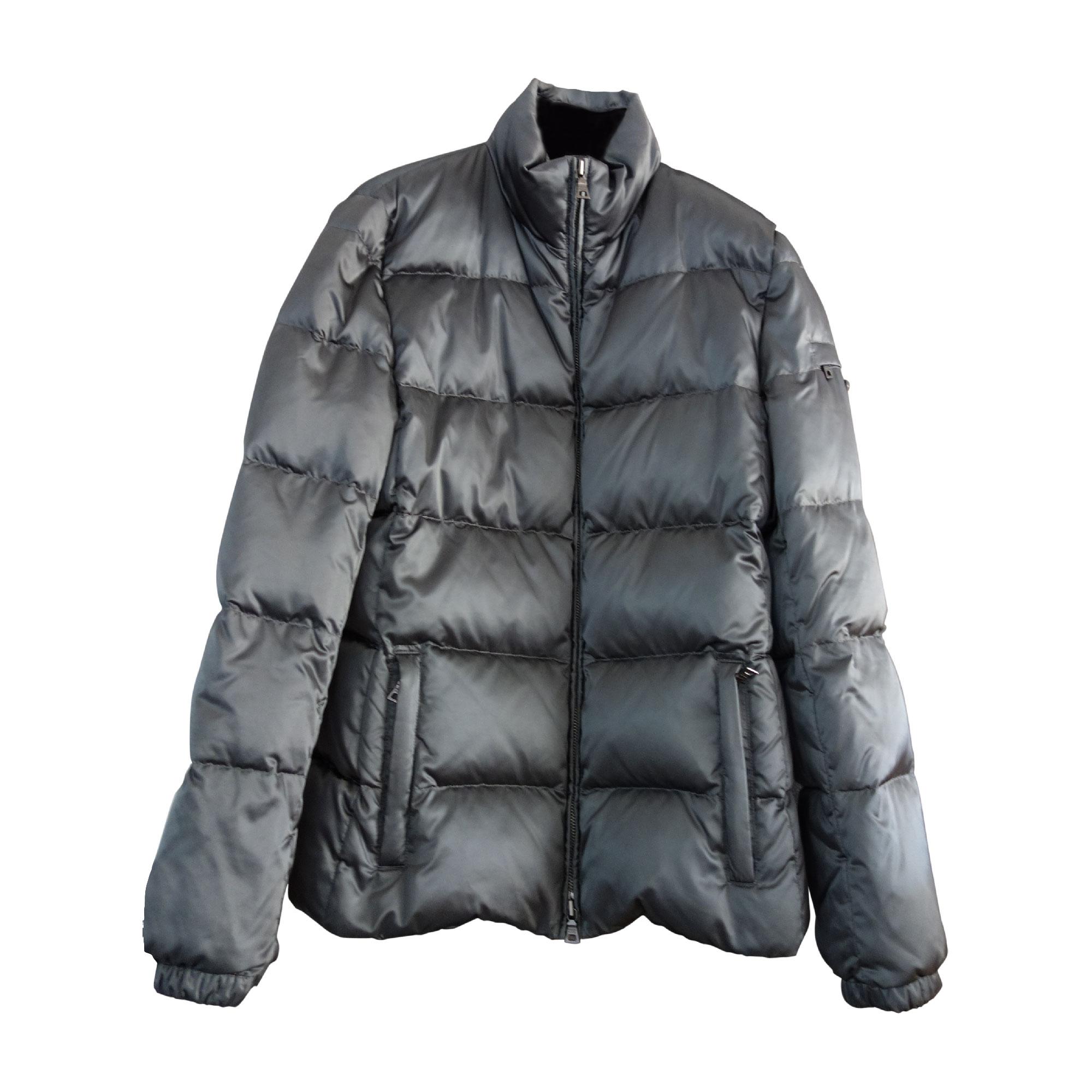 Doudoune PRADA 42 (L XL, T4) gris - 4293125 9dba107c8d0