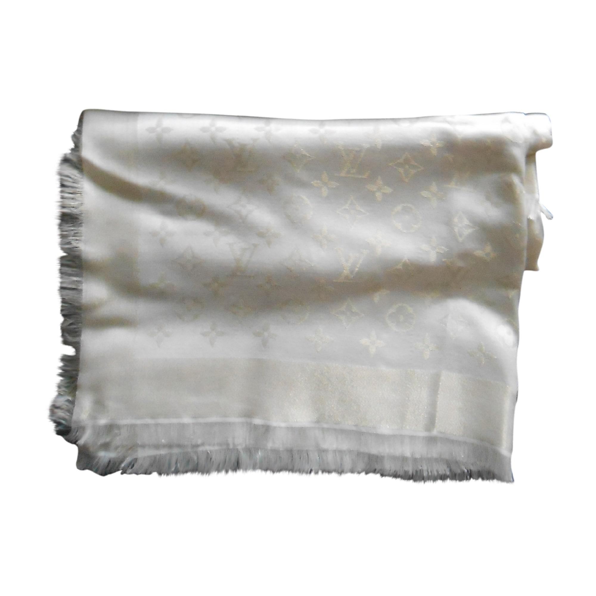 Châle LOUIS VUITTON beige vendu par So0204 - 4316562 7c273969cda