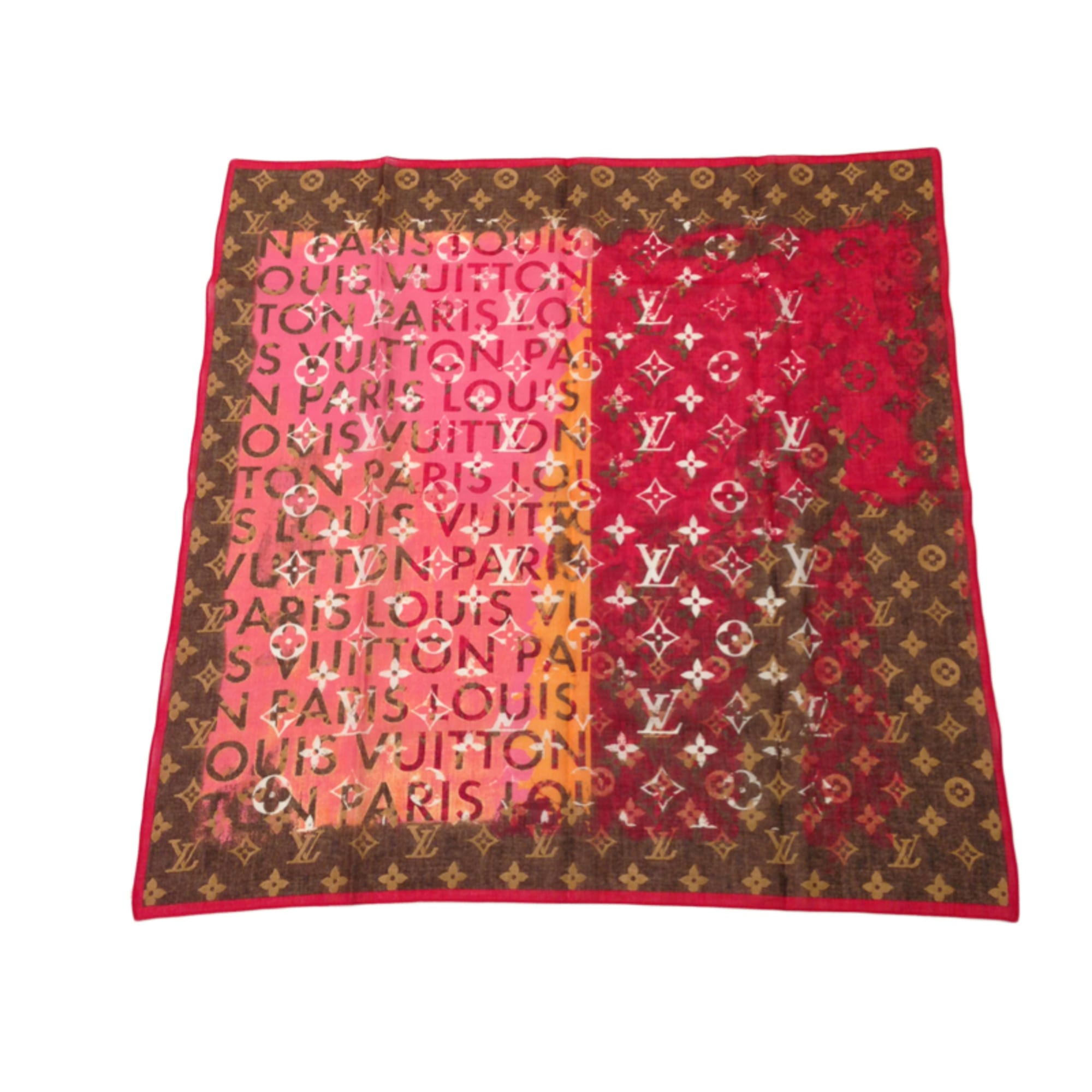 Foulard LOUIS VUITTON marron vendu par Chocolat blond - 4341069 098bbc9e849