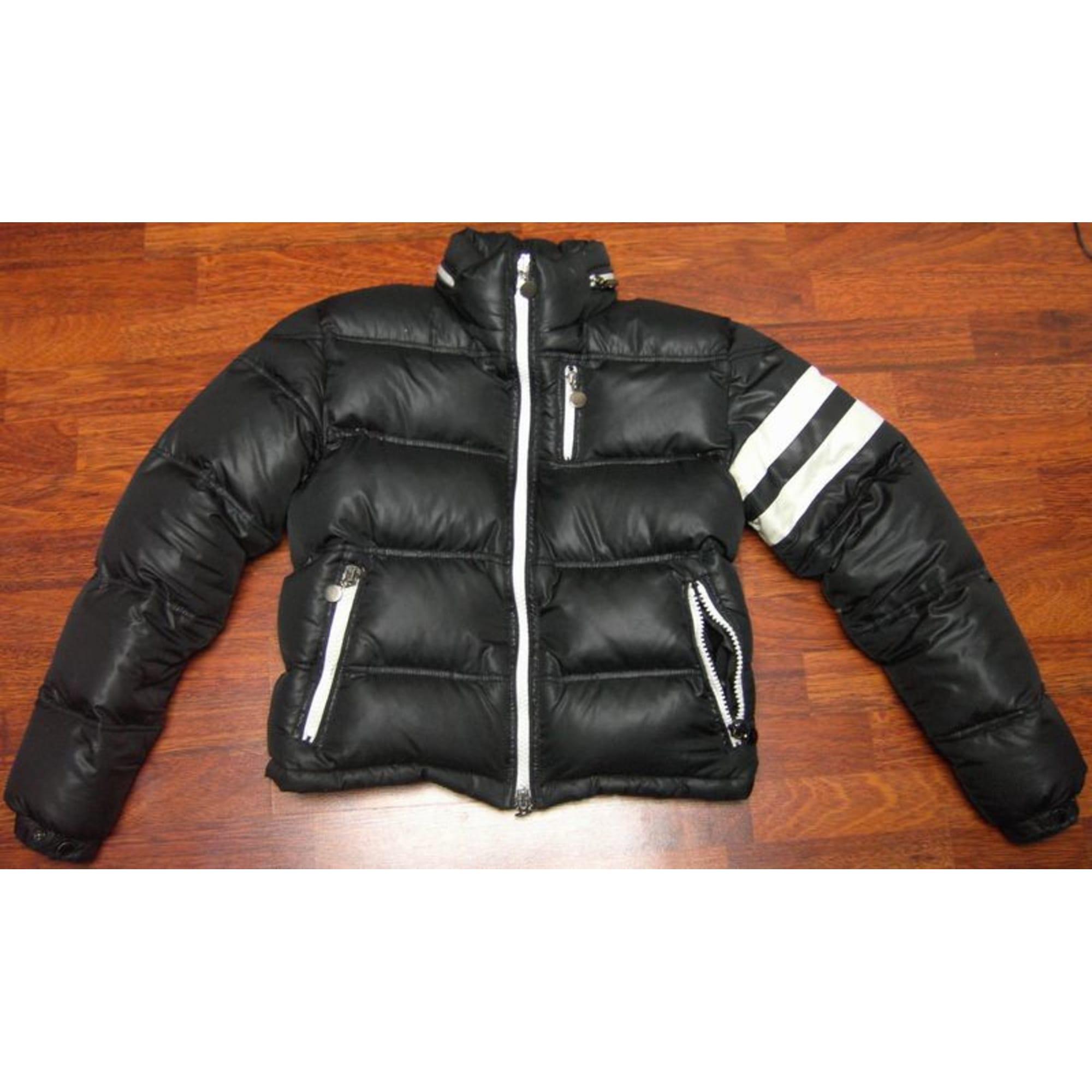 Doudoune MONCLER 46 (S) noir vendu par Luxeetski - 435168 65c0dc1303a