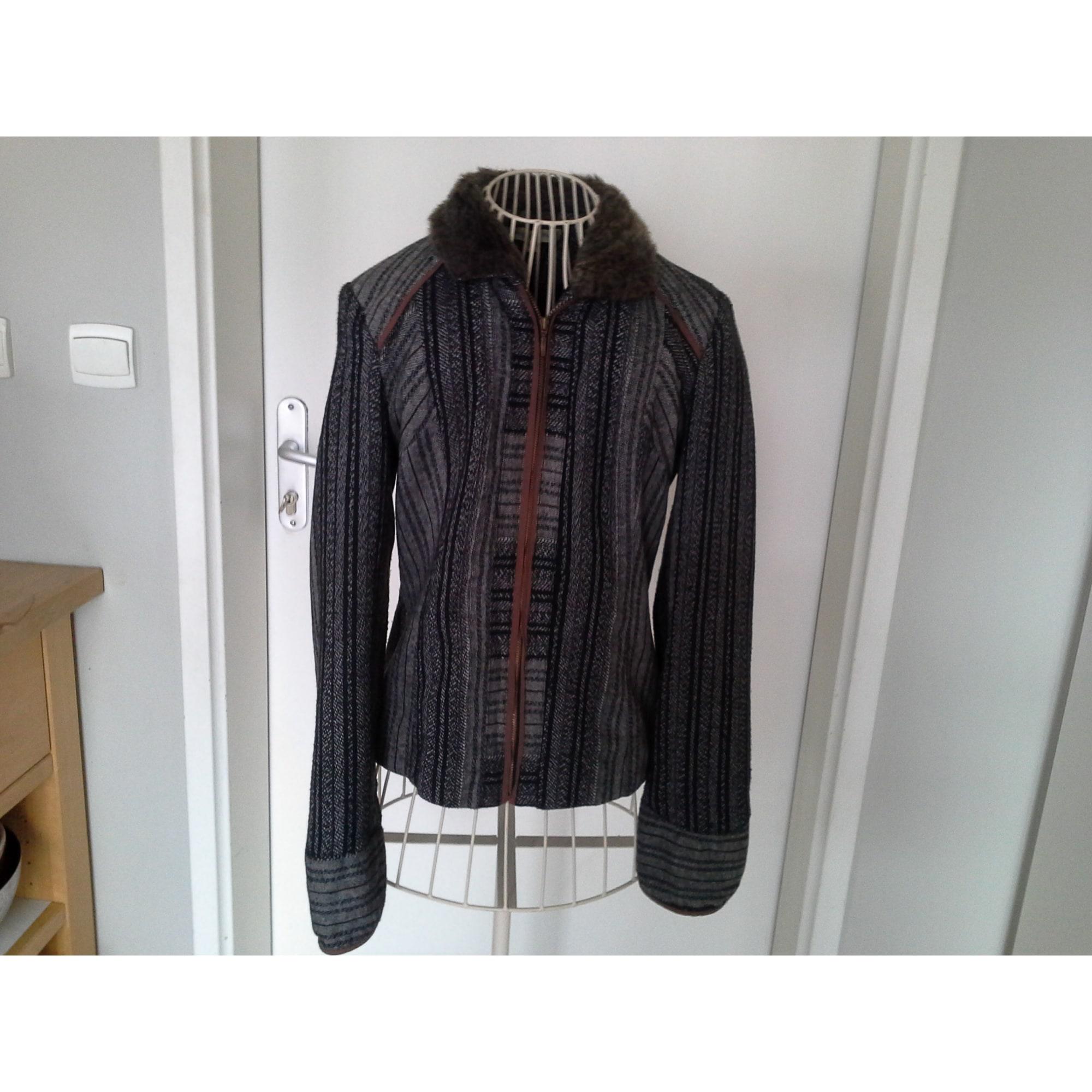 1538466cd683 Blazer, veste tailleur JACQUELINE RIU 36 (S, T1) gris - 4365943
