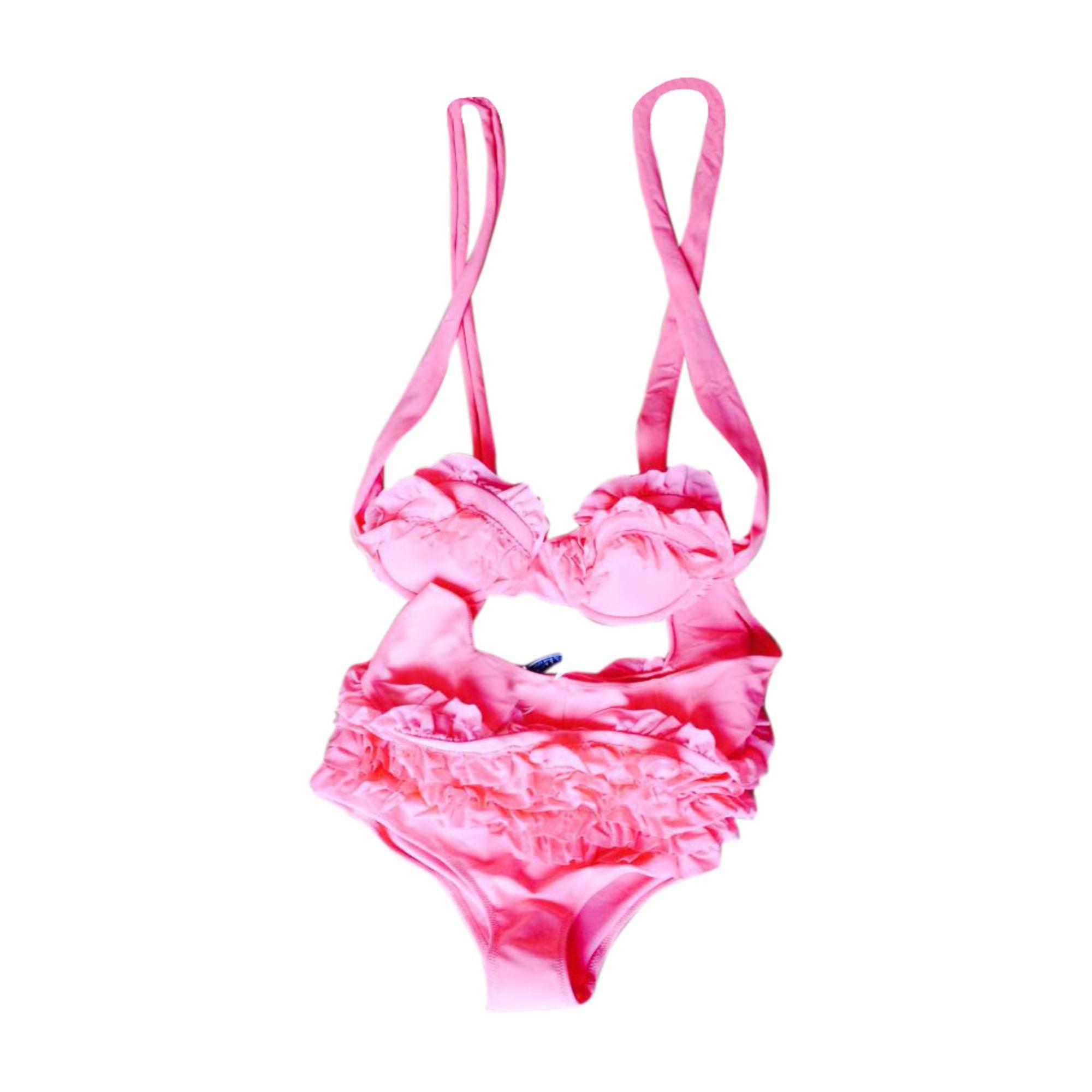 Two Piece Swimsuit NINA RICCI Pink, fuchsia, light pink
