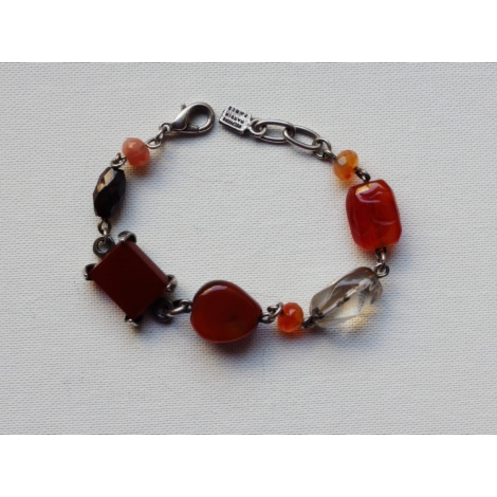 Bracelet DELPHINE NARDIN  cornaline multicolore