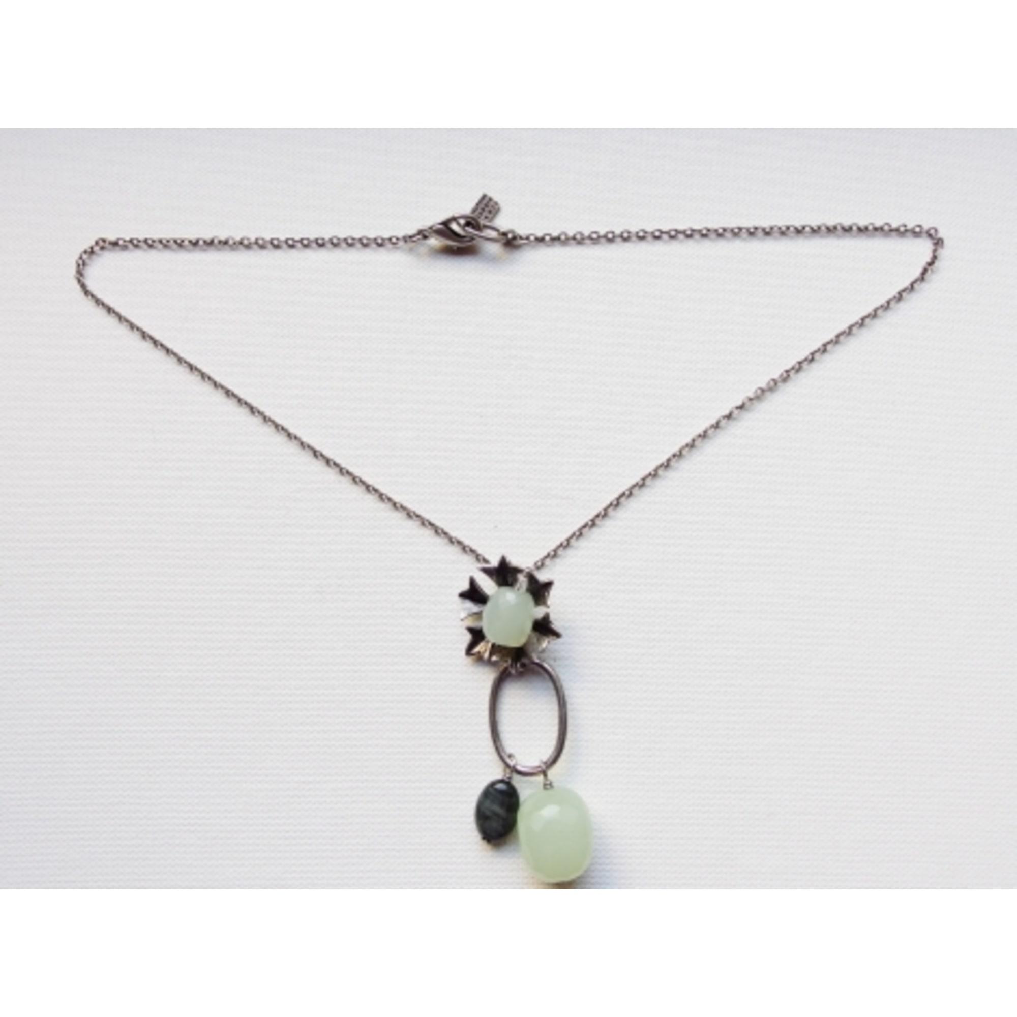 Collier DELPHINE NARDIN  pierres vert