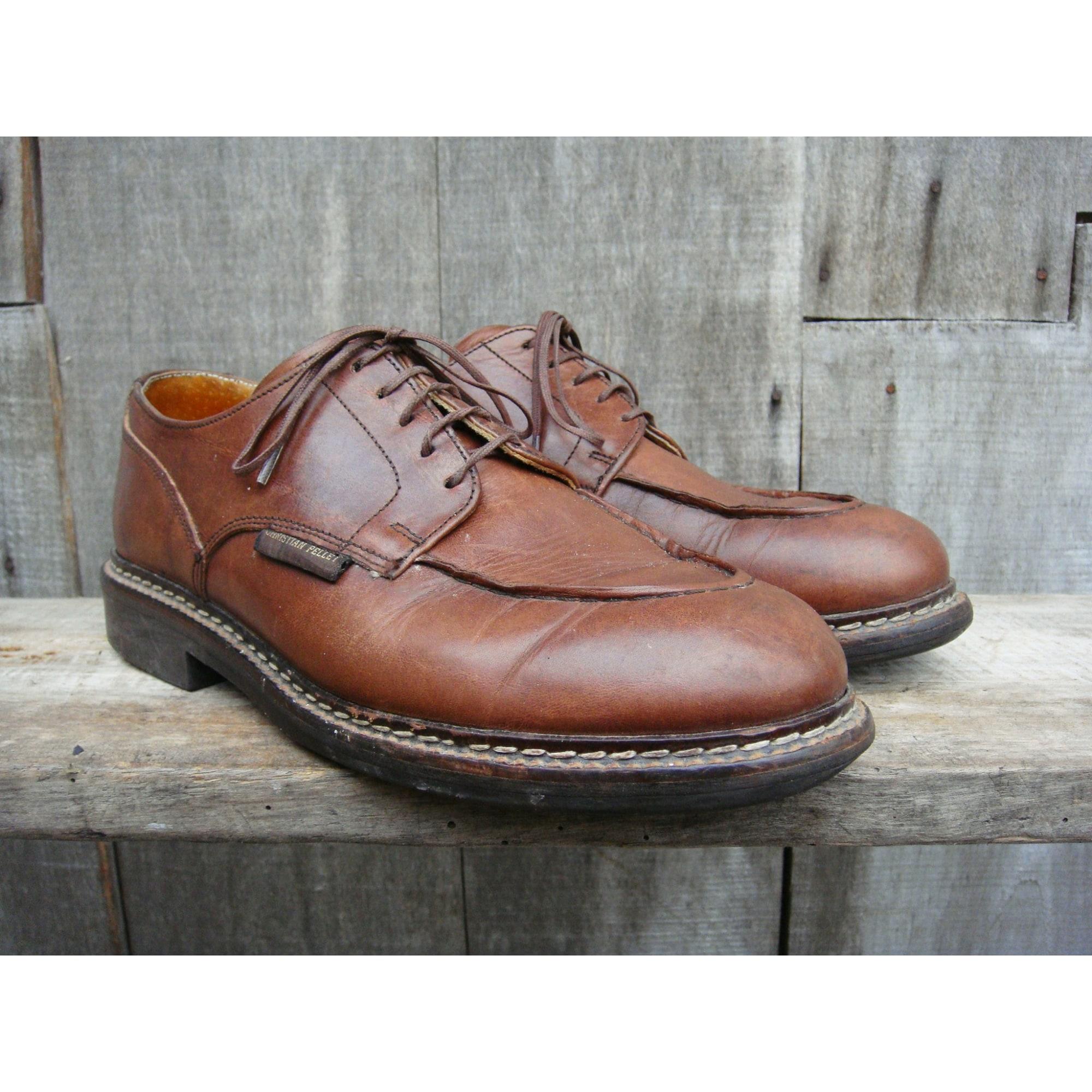 Chaussures à lacets CHRISTIAN PELLET Marron