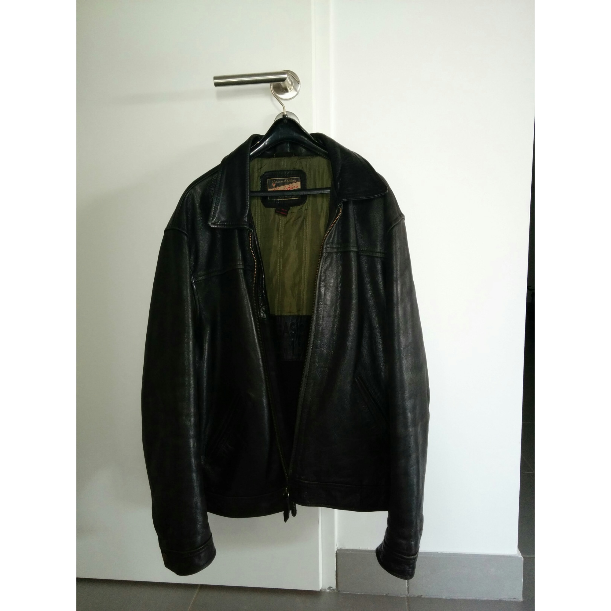 df58fd01ced8 Veste en cuir REDSKINS 50 (M) noir vendu par Yunusova - 4415134
