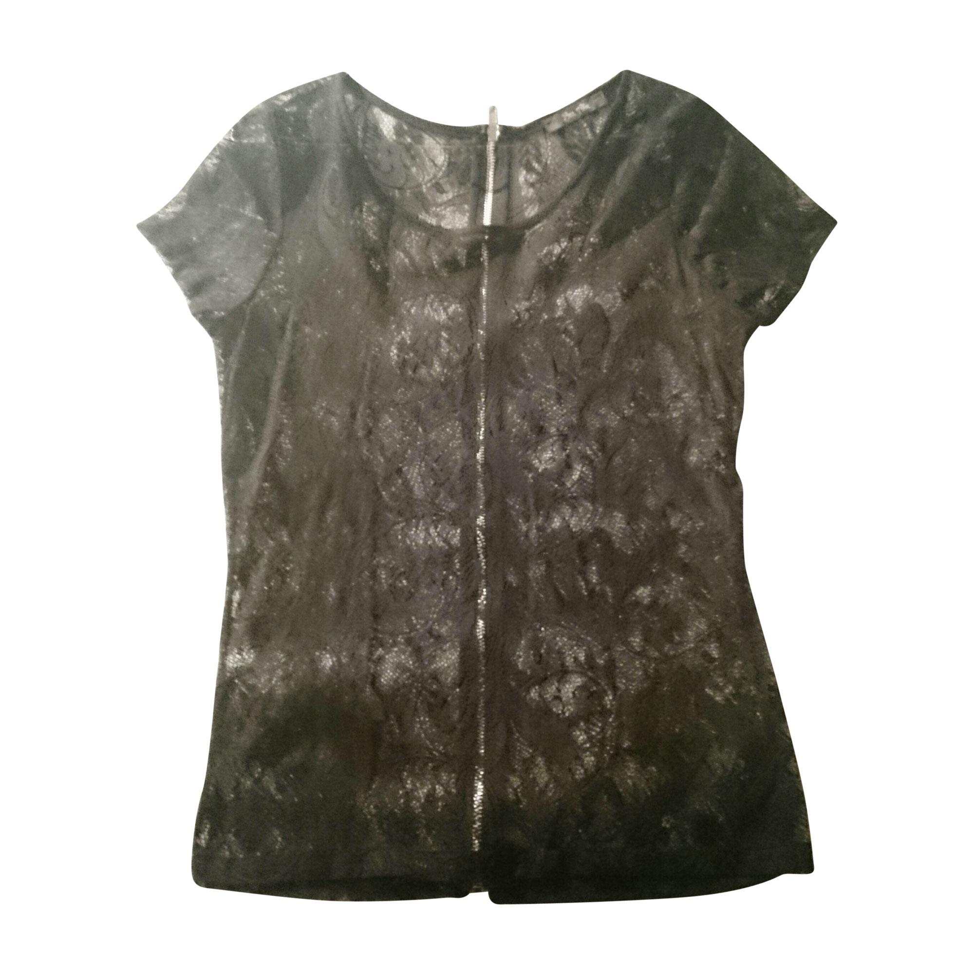 Top, tee-shirt BEL AIR Noir