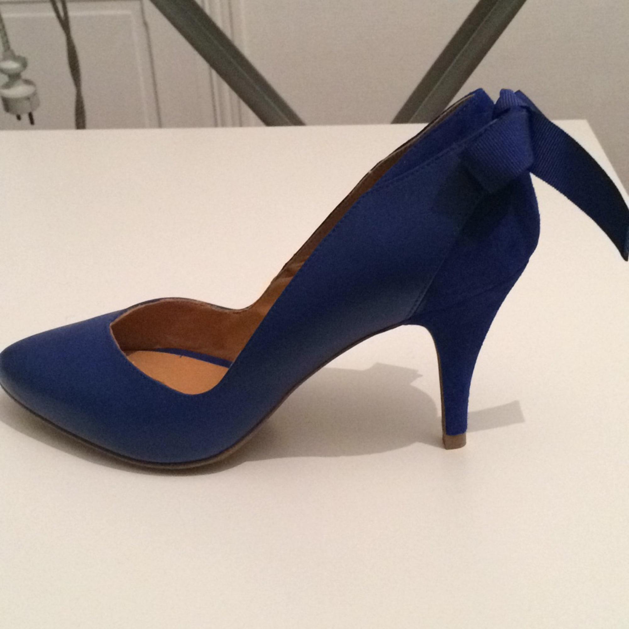 c18fd22d6ee Escarpins SÉZANE 38 bleu vendu par Iness17 - 4442278