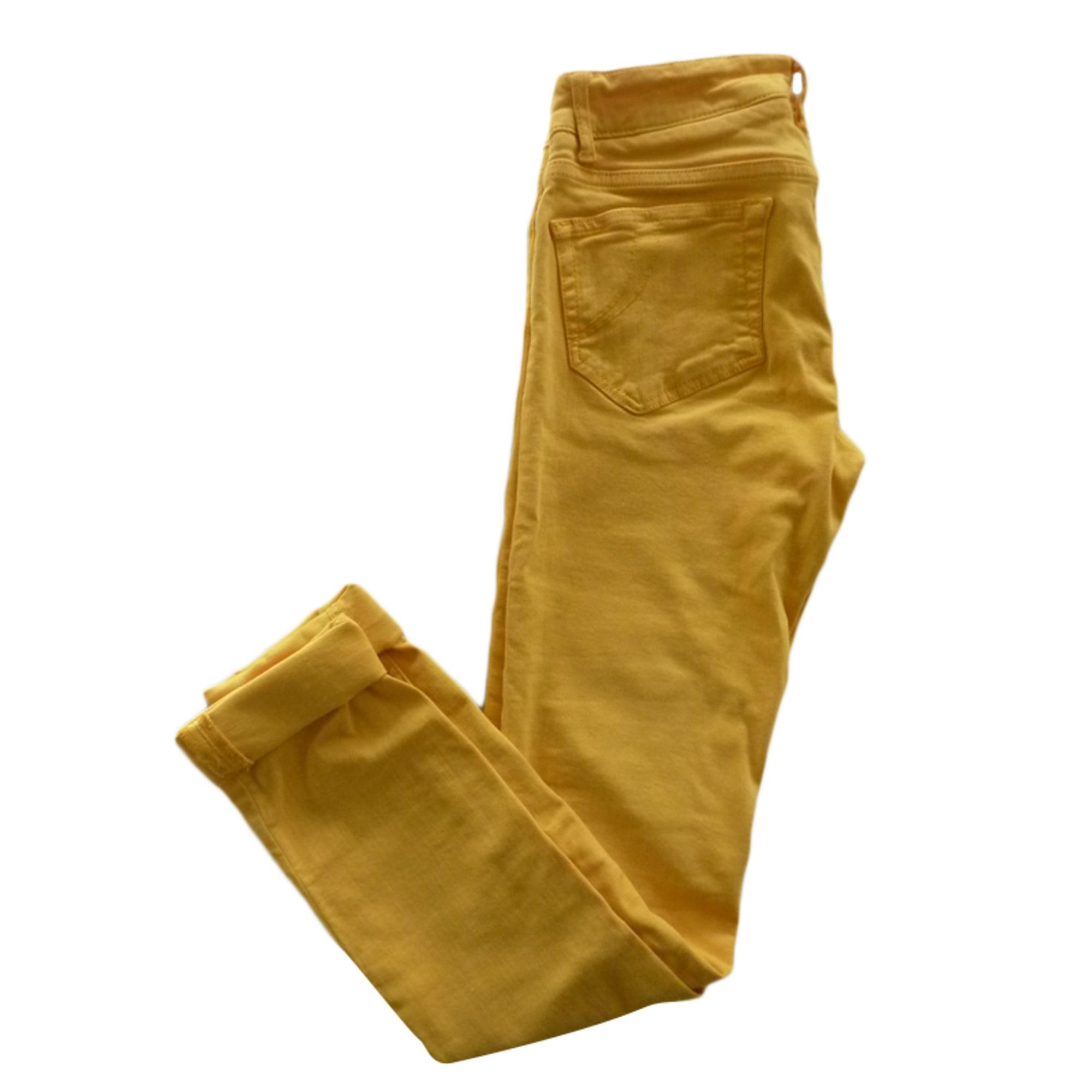 jean maje javar jaune
